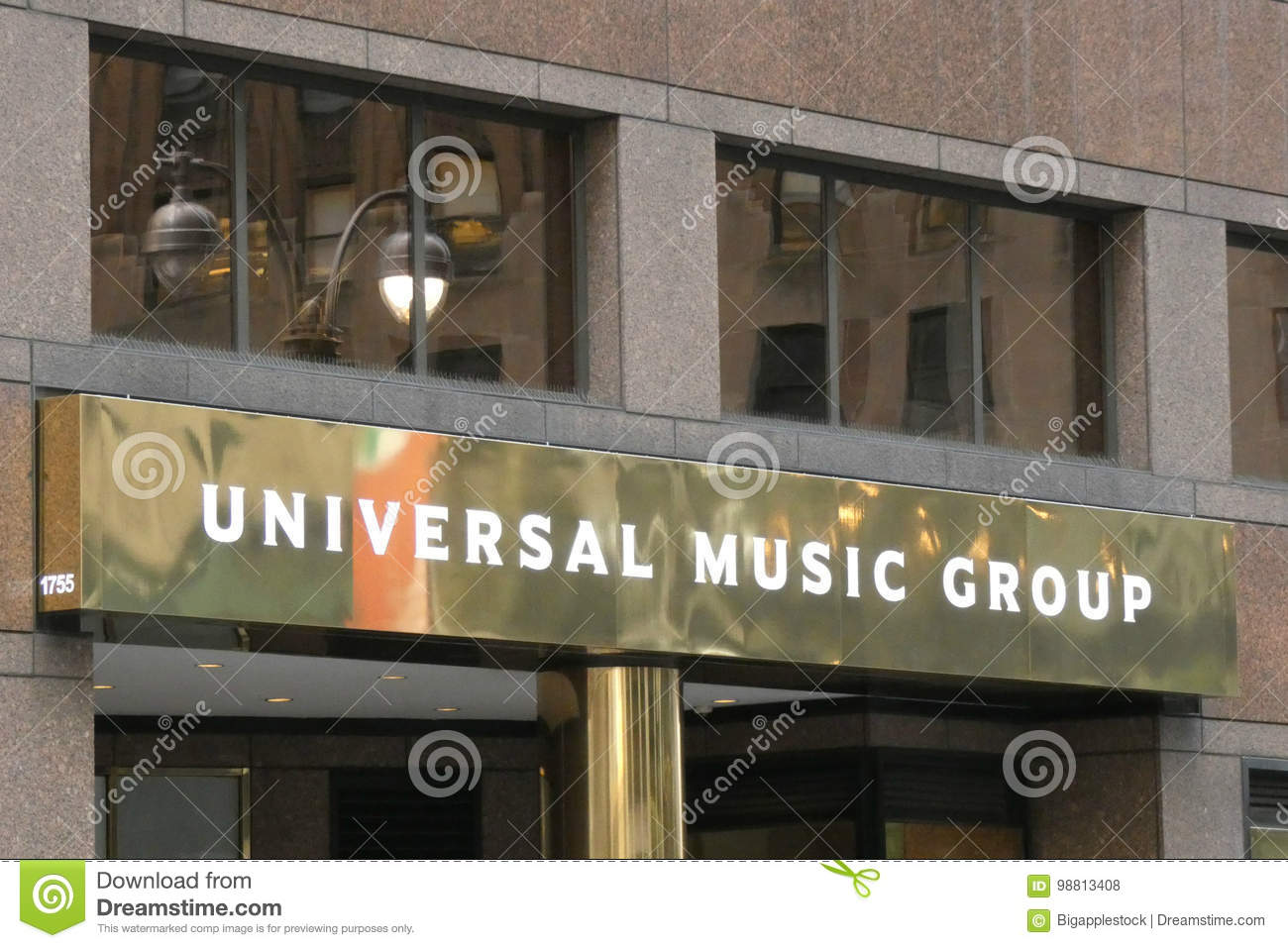Universal Music Group editorial stock photo  Image of corporation