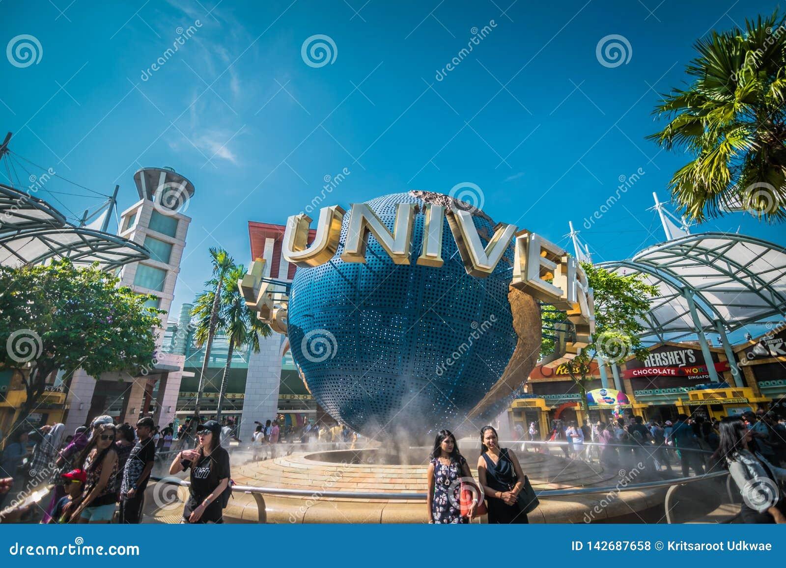 Universal Studio Singapore, a theme park located within Resorts World Sentosa on Sentosa Island, Singapor