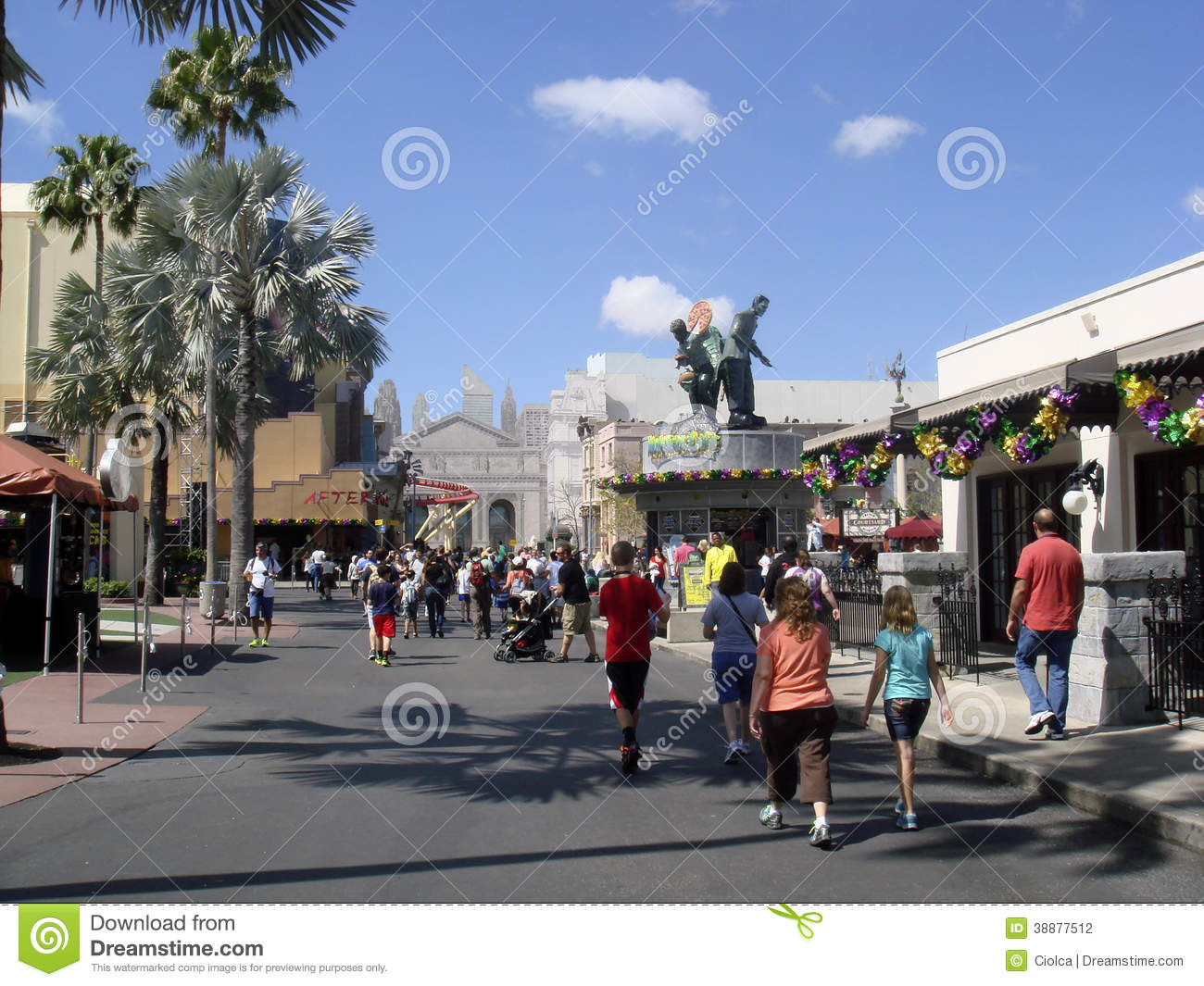 Universal studios florida editorial photography image for A new image salon orlando