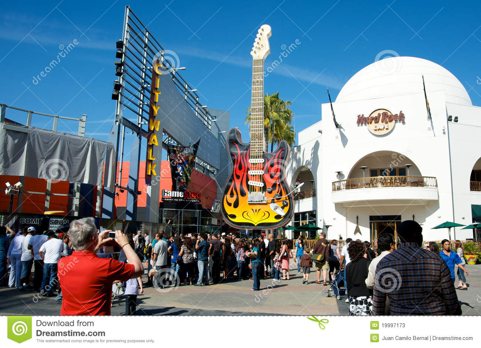 Hard Rock Cafe Universal Studios Hollywood