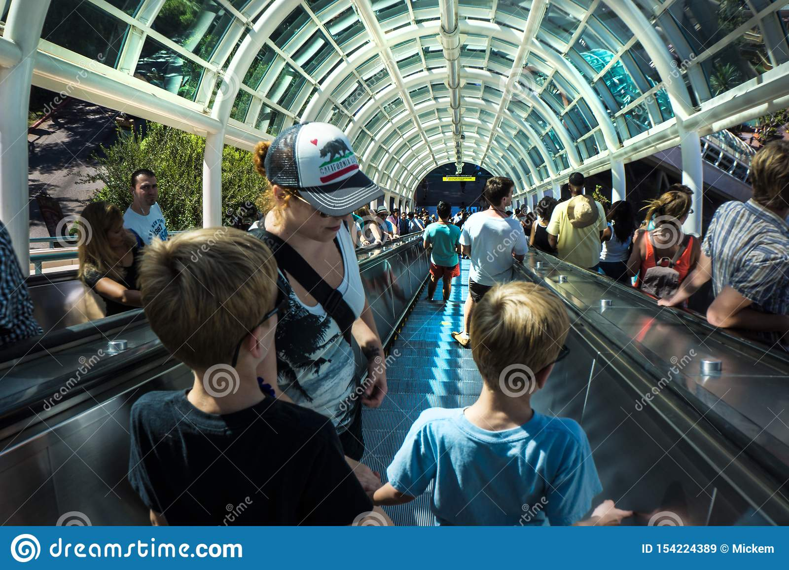 Universal Studio Moving Stairwell Called Starwell Editorial Stock Image Image Of Escalator Abandoned 154224389