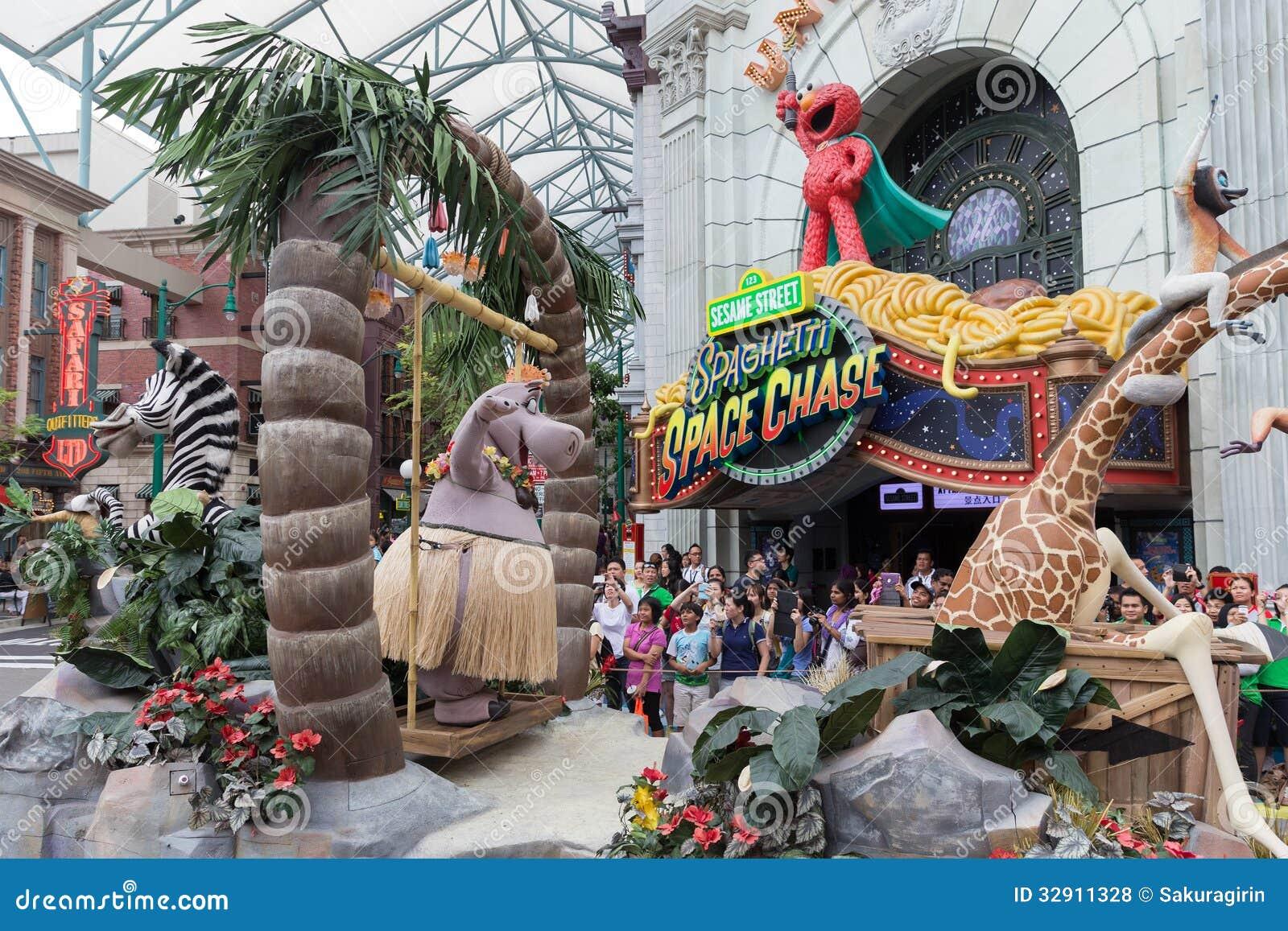 Universal Studios Singapore Editorial Stock Photo - Image