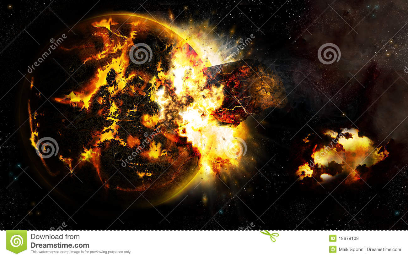 Universe and the broken planet 2