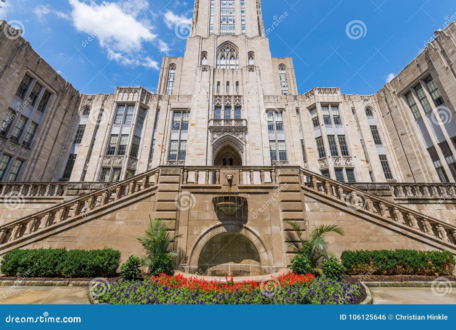 Universidad de Pittsburgh, Pennsylvania en Oakland del norte