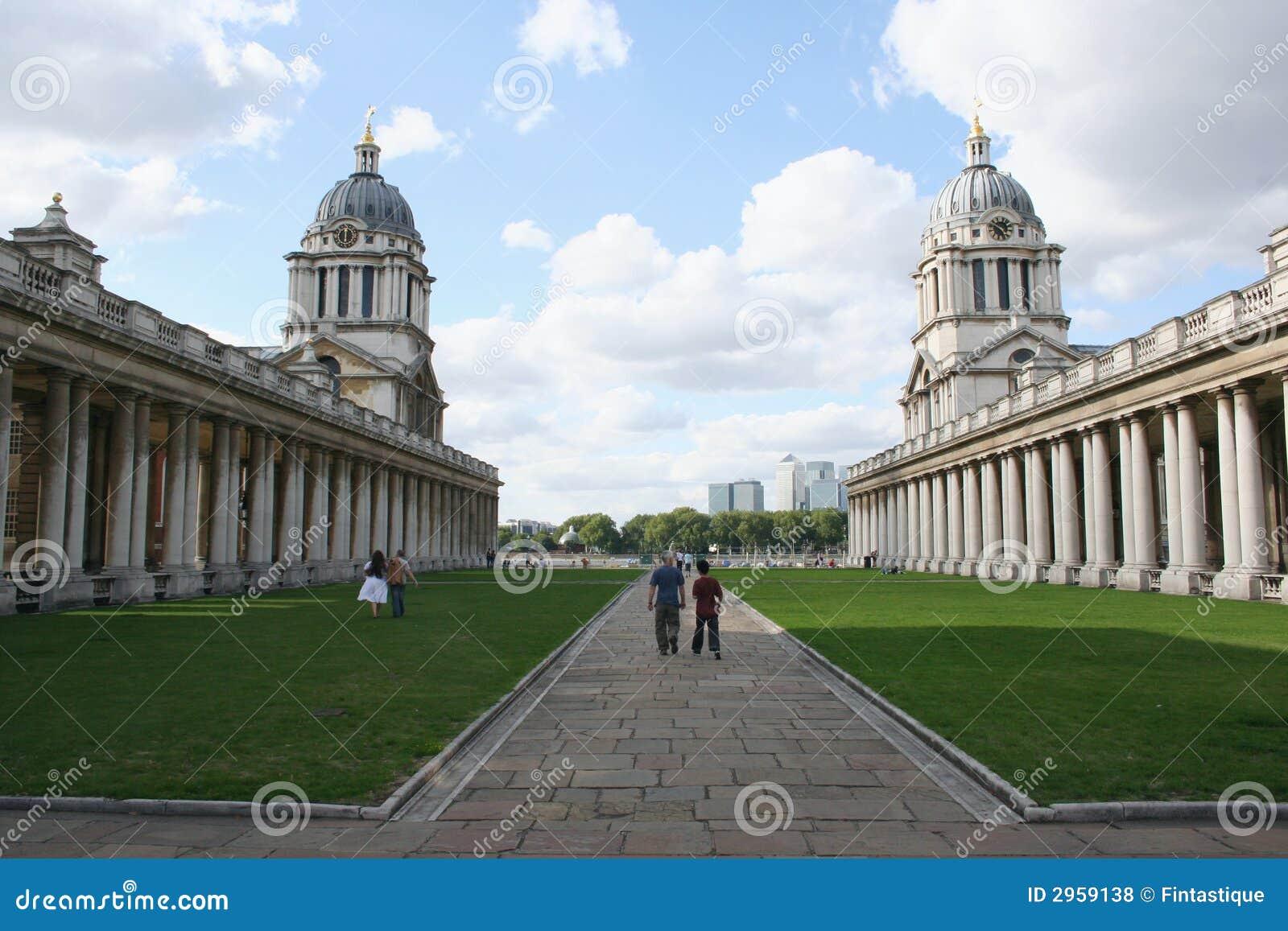 Universidad naval real, Greenwich