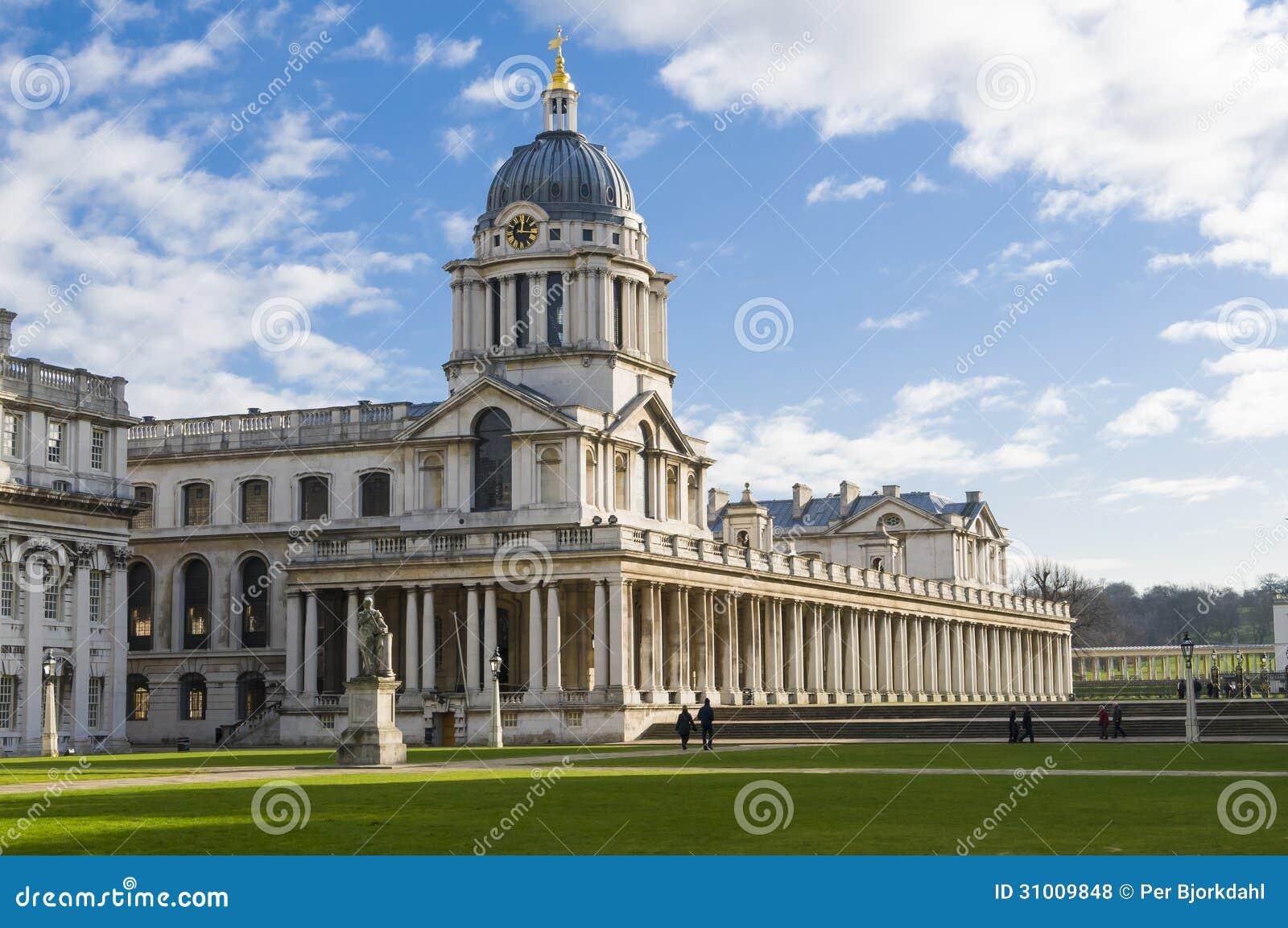 Universidad naval real vieja Greenwich