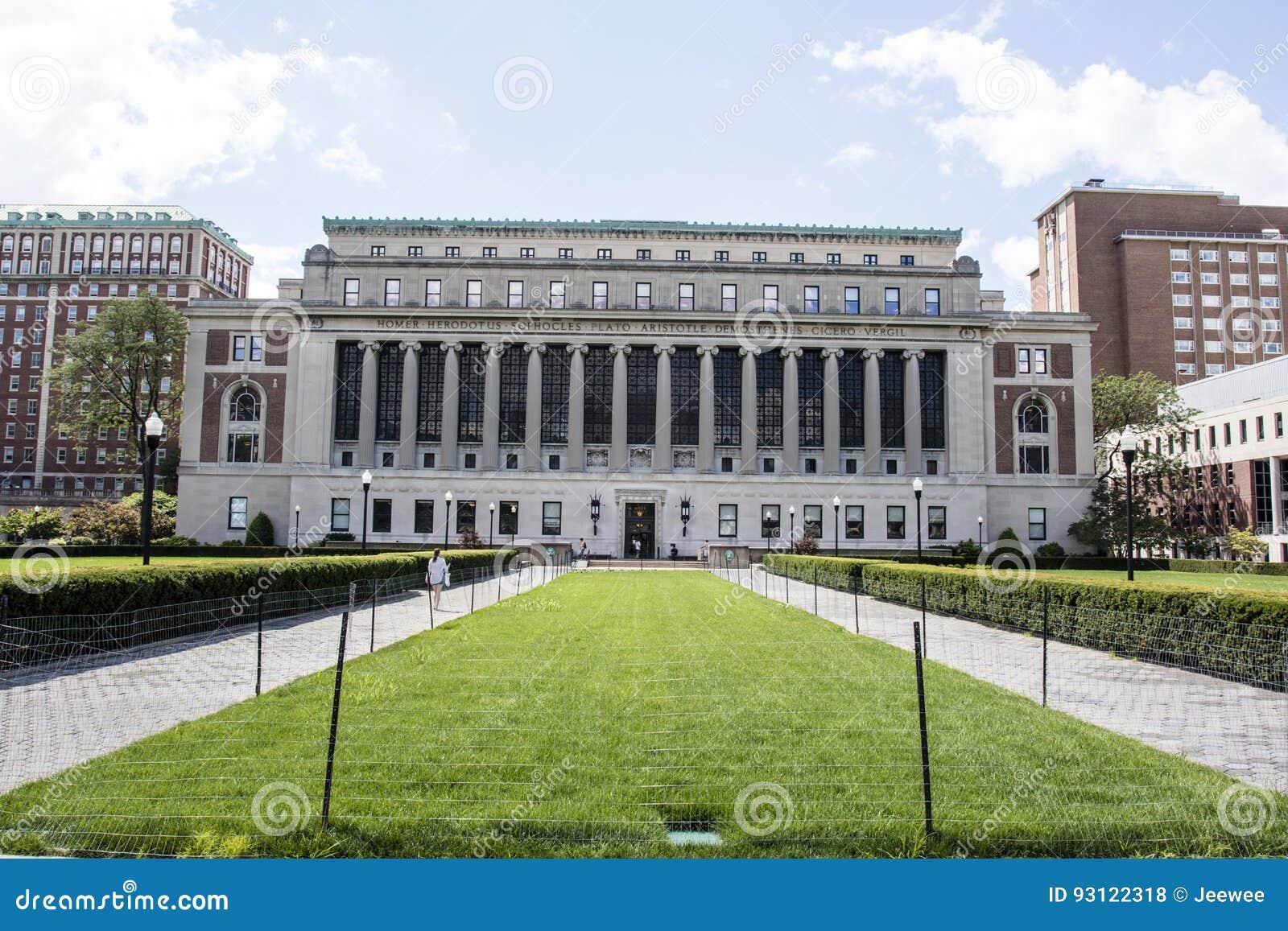 Universidade de Columbia no Upper Manhattan, New York City, Estados Unidos da América