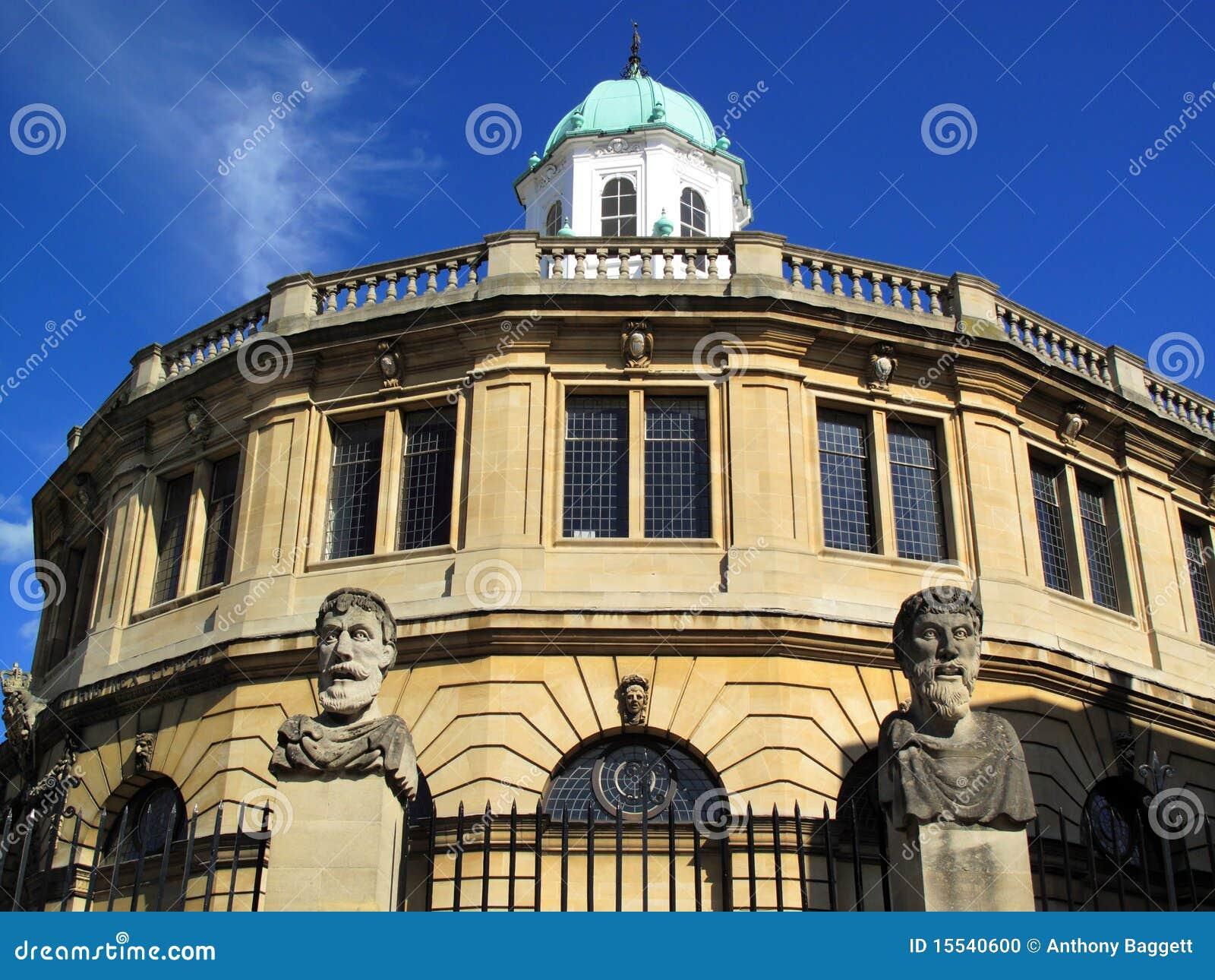 Universidade de Oxford do teatro de Sheldonian