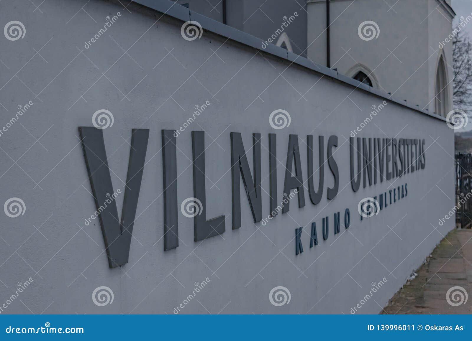 Universidade de Vilnius em Kaunas