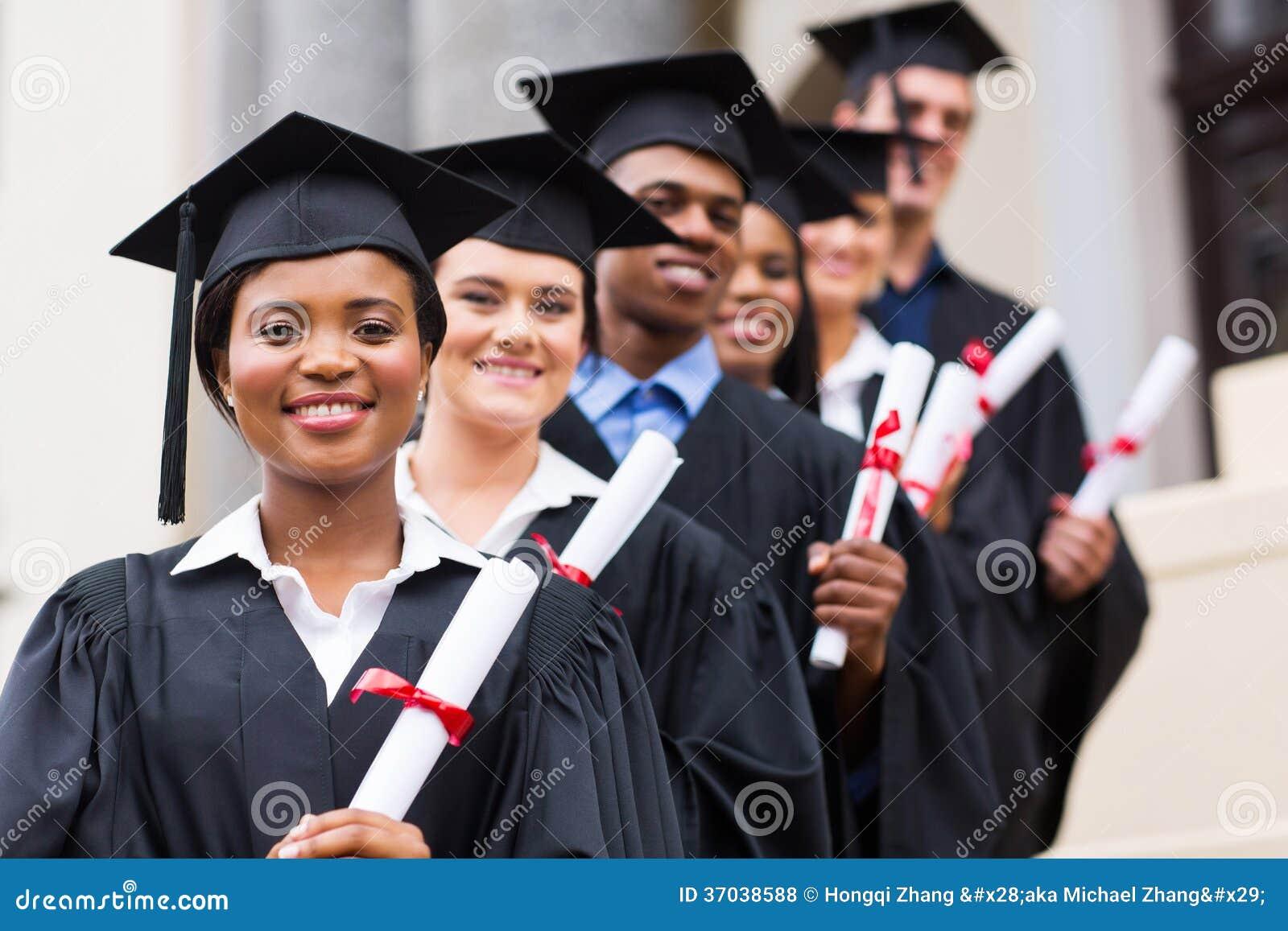 A universidade gradua a graduação