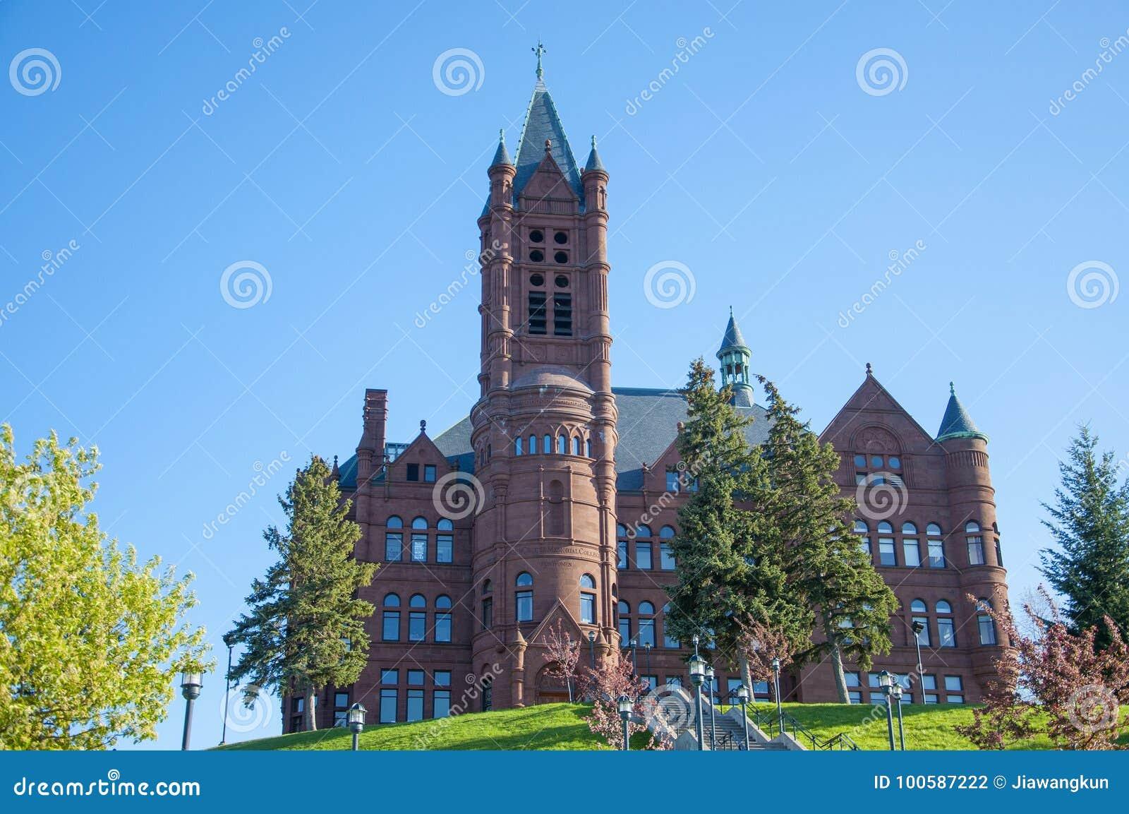 Università di Syracuse, Siracusa, New York, U.S.A.
