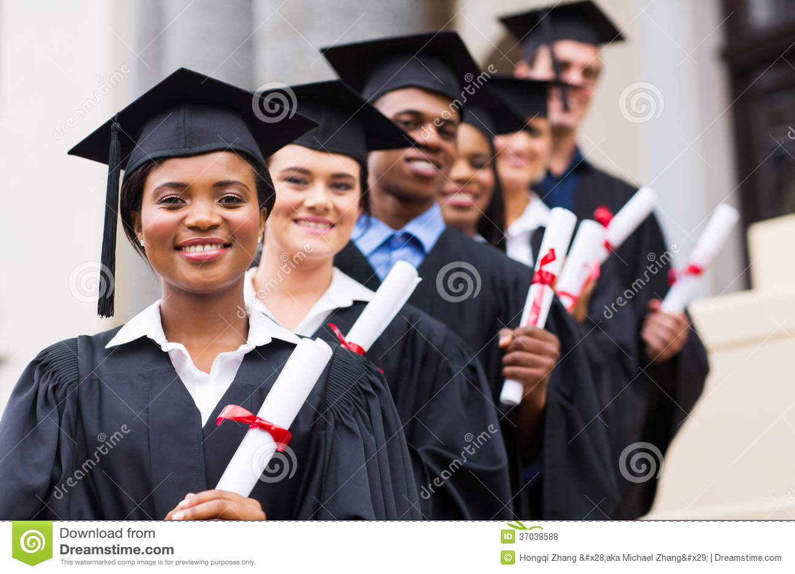 Universität graduiert Staffelung
