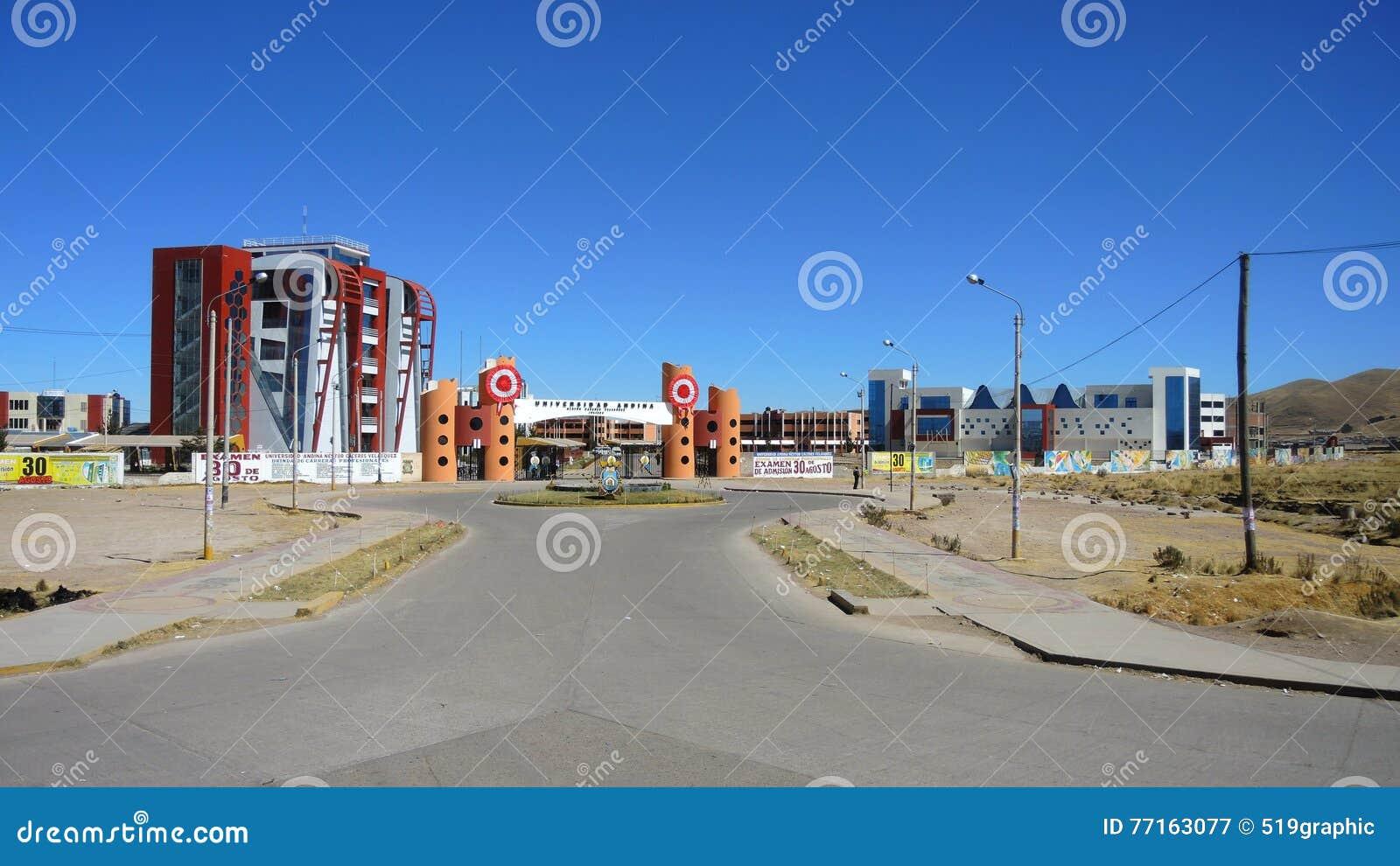 Université andine, Puno, Pérou