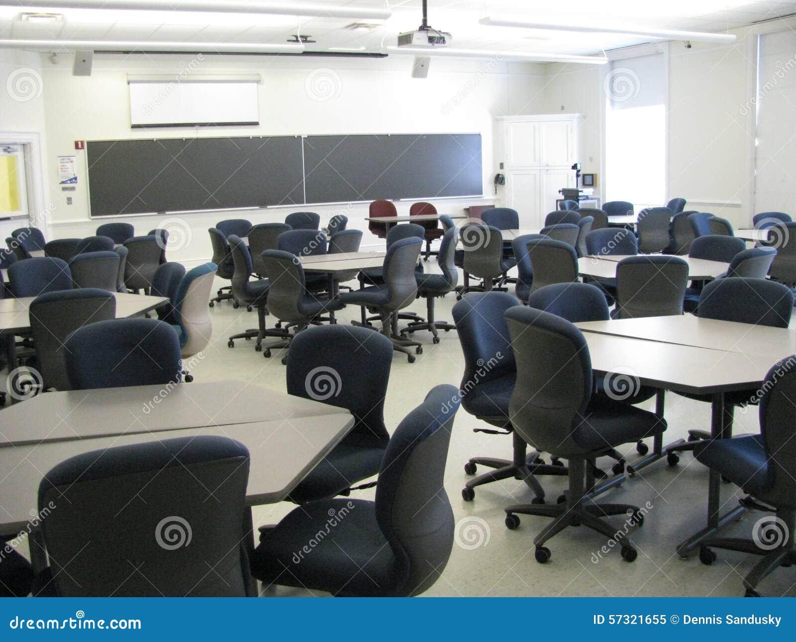 Universiteitsklaslokaal