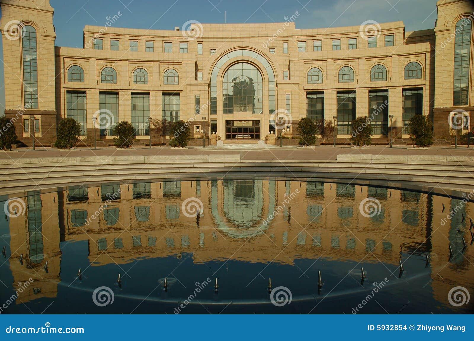 Universitetar för universitetsområdefudan jiangwan arkiv