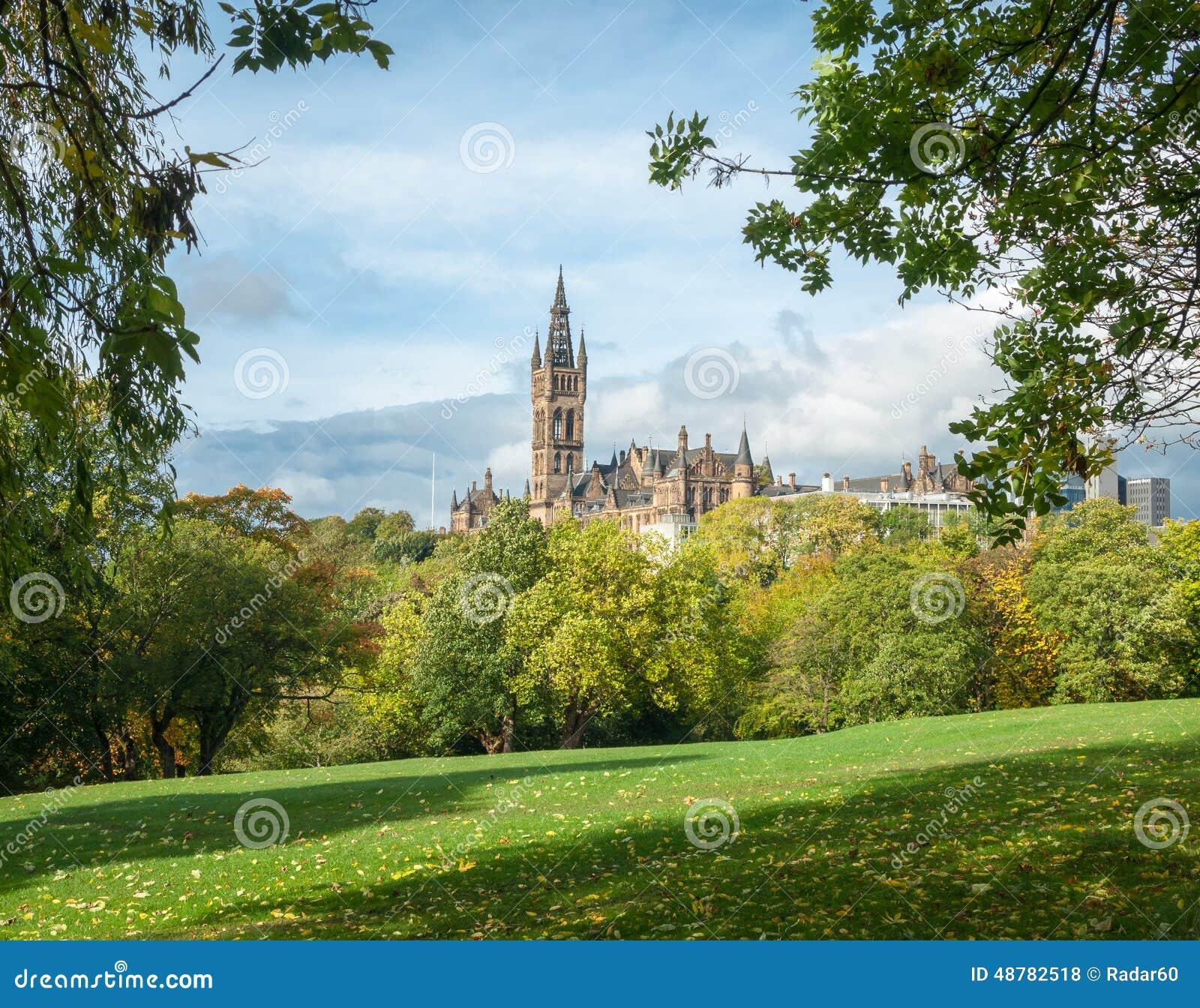 Universitetet av Glasgow byggnad