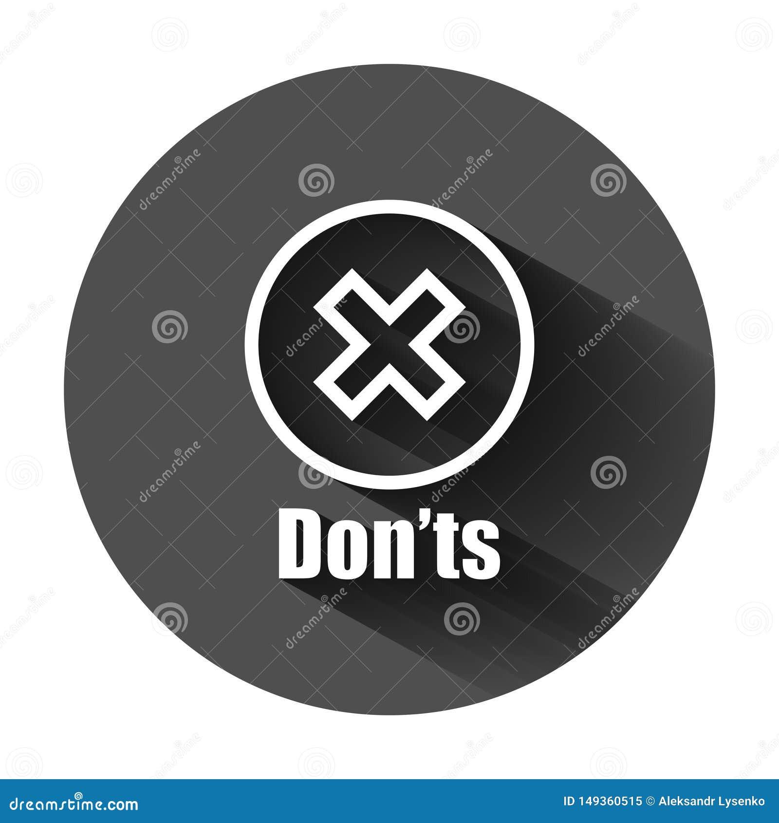 Universitetsl?rare?ts undertecknar symbolen i plan stil I motsats till vektorillustration p? svart rund bakgrund med l?ng skugga