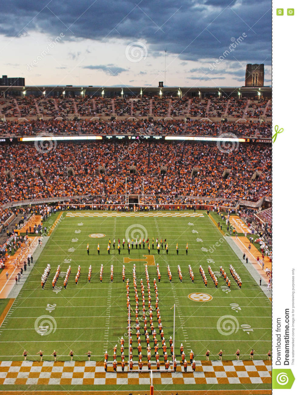 University Of Tennessee Game Day Editorial Photo - Image ...