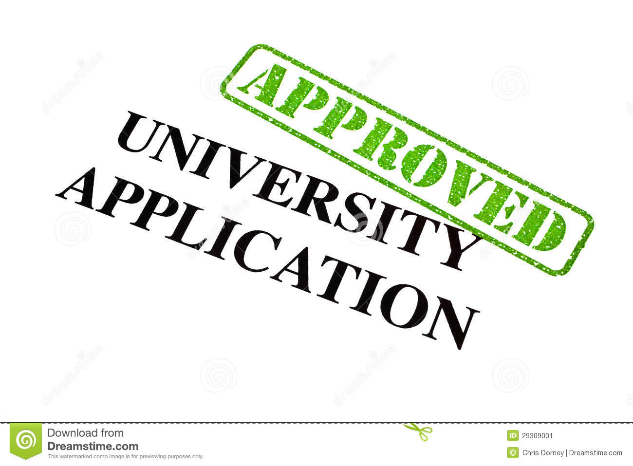 how to prepare for university application