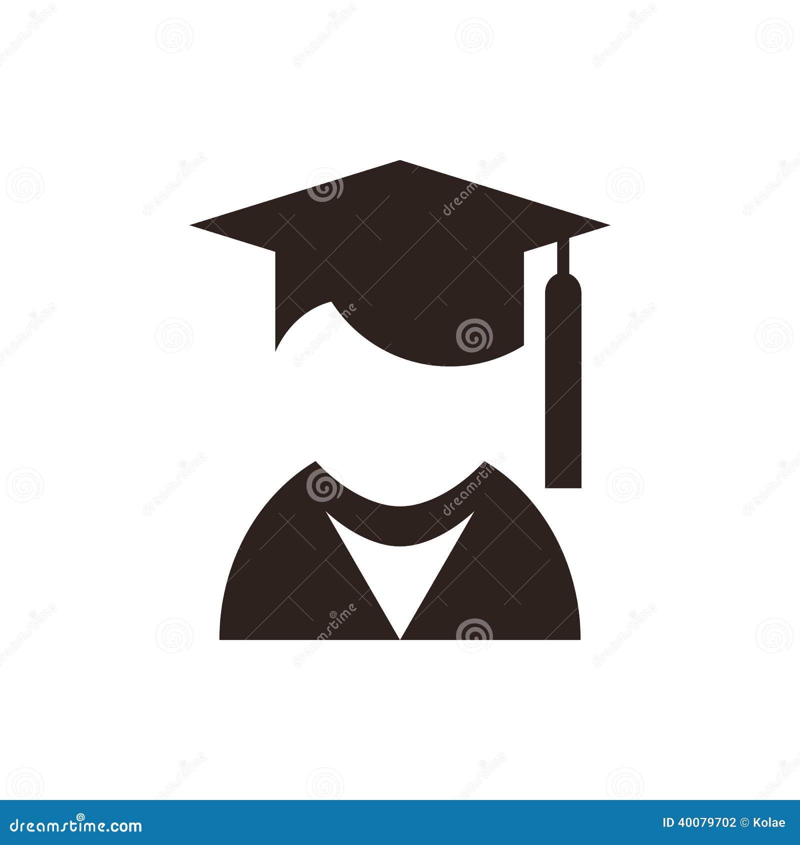 University Avatar. Education Icon Stock Vector