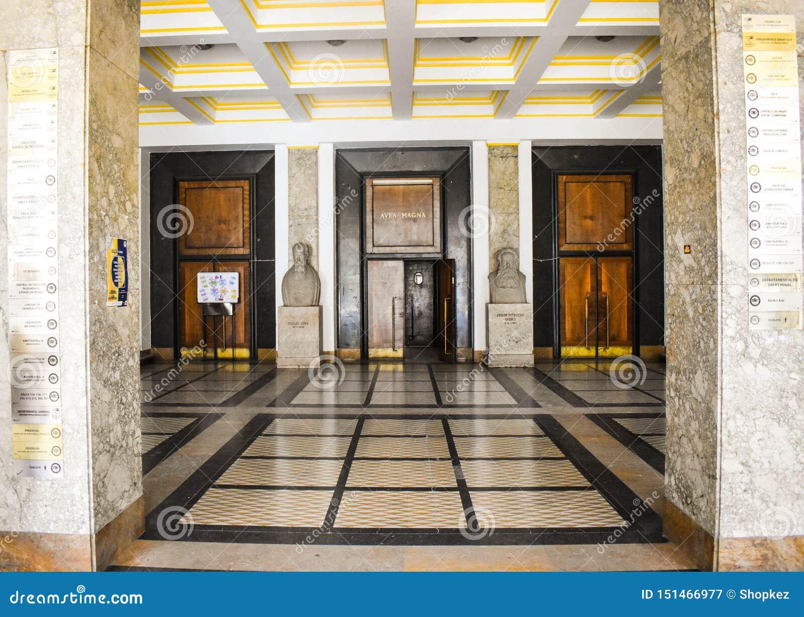 University of Bucharest - Law School building - Bucharest, Romania - 10.06.2019