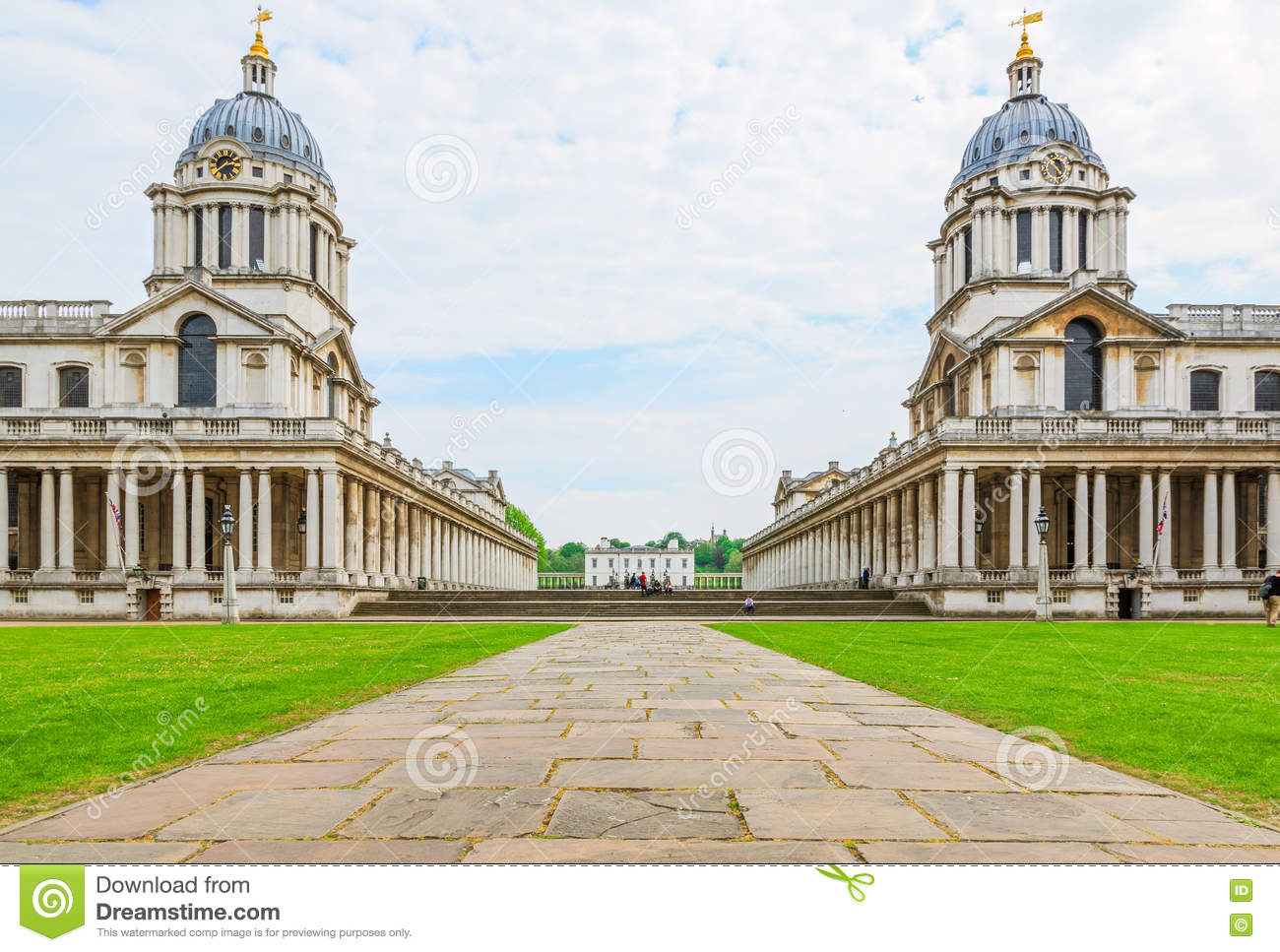 the university of greenwich stock photo image of lawn britain 71586178. Black Bedroom Furniture Sets. Home Design Ideas