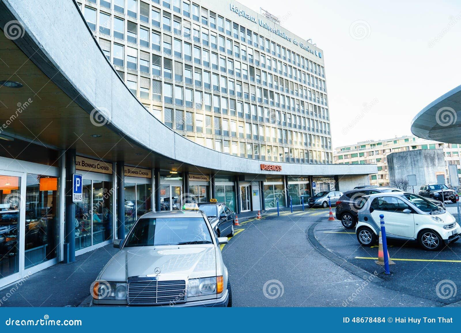University Hospital Of Geneva Editorial Stock Image - Image