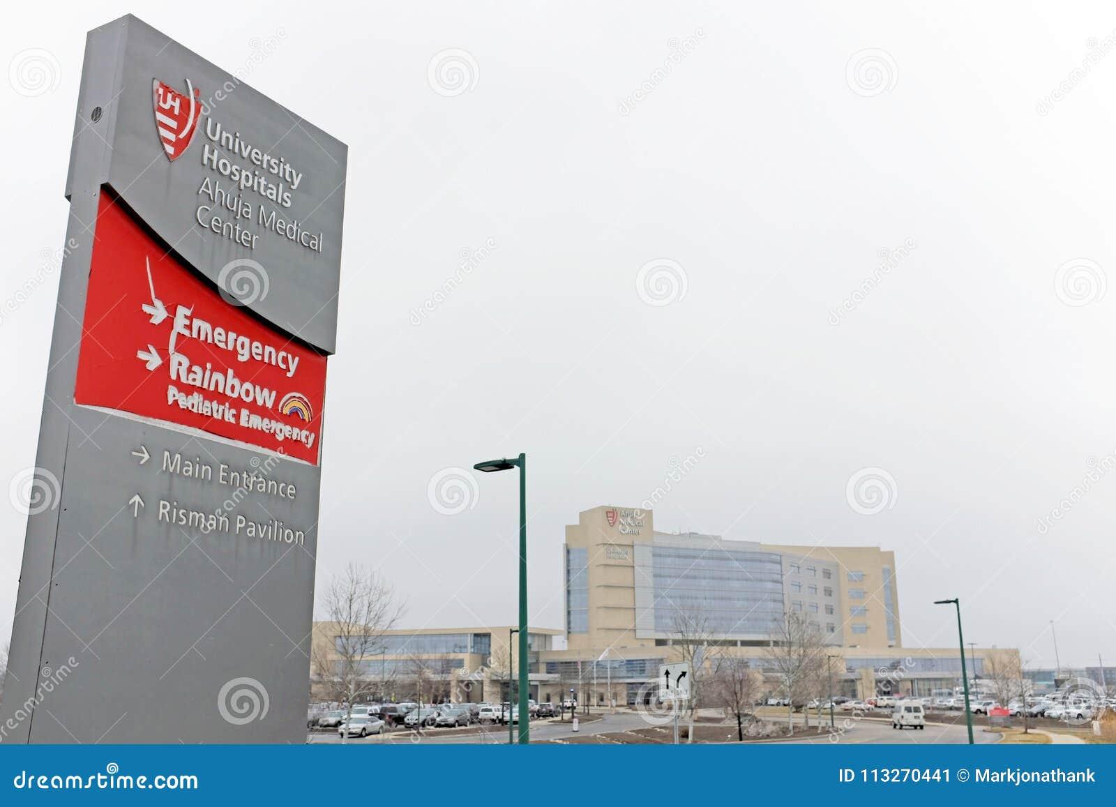 University Hospital`s Ahuja Medical Center Site Of Major