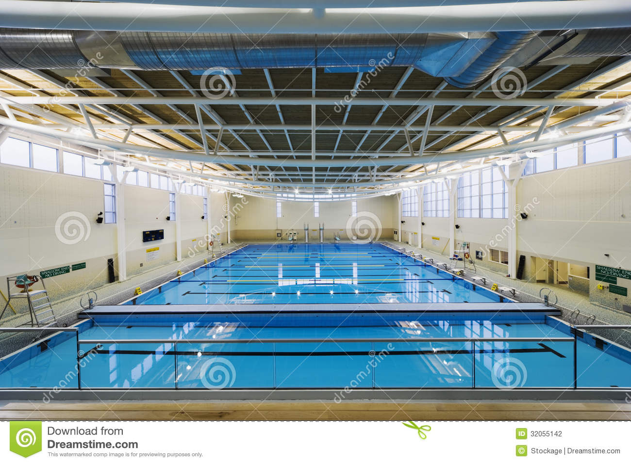 University Indoor Swimming Pool Stock Photography Image 32055142