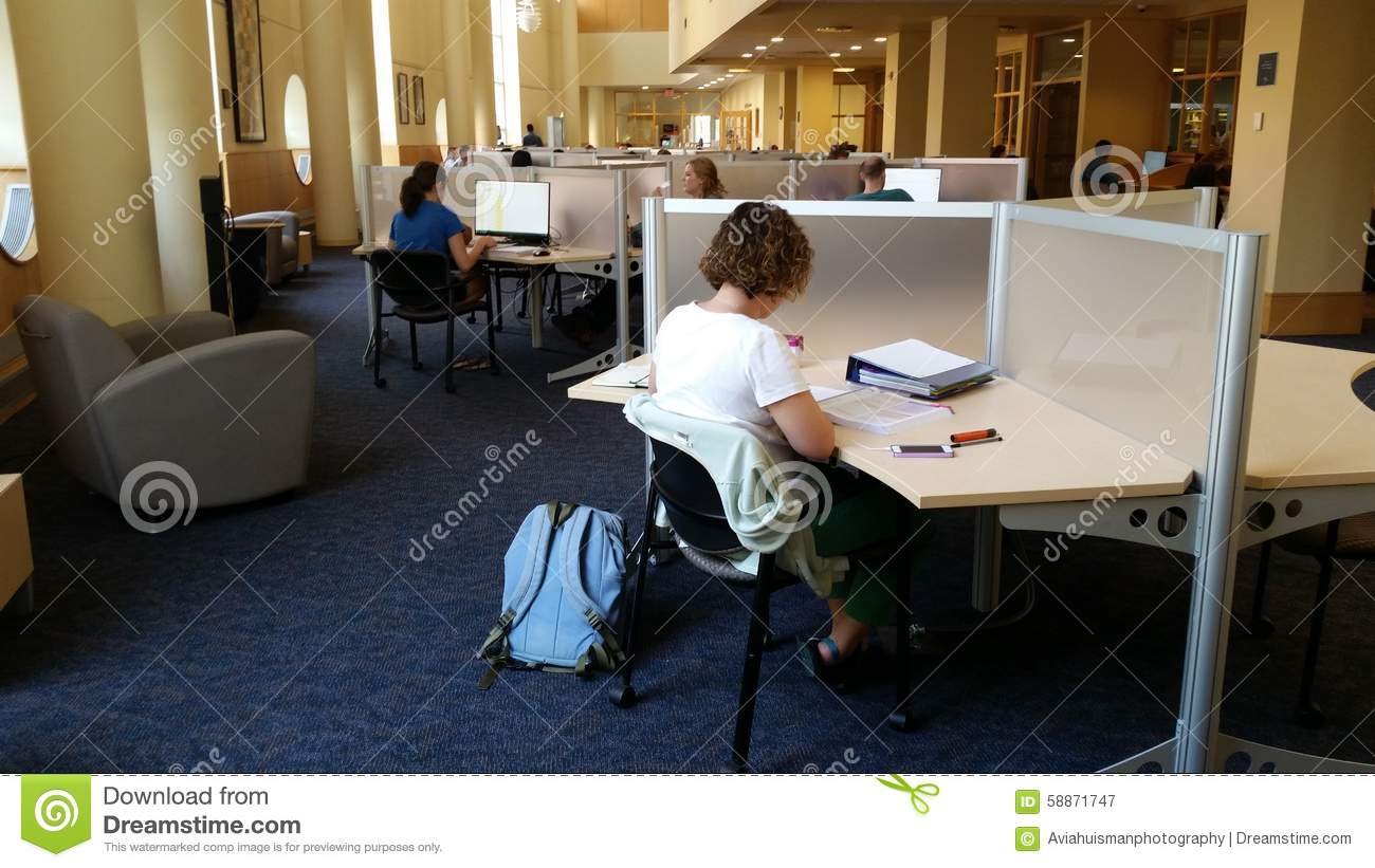 University Library: Study Space Editorial Photography ...
