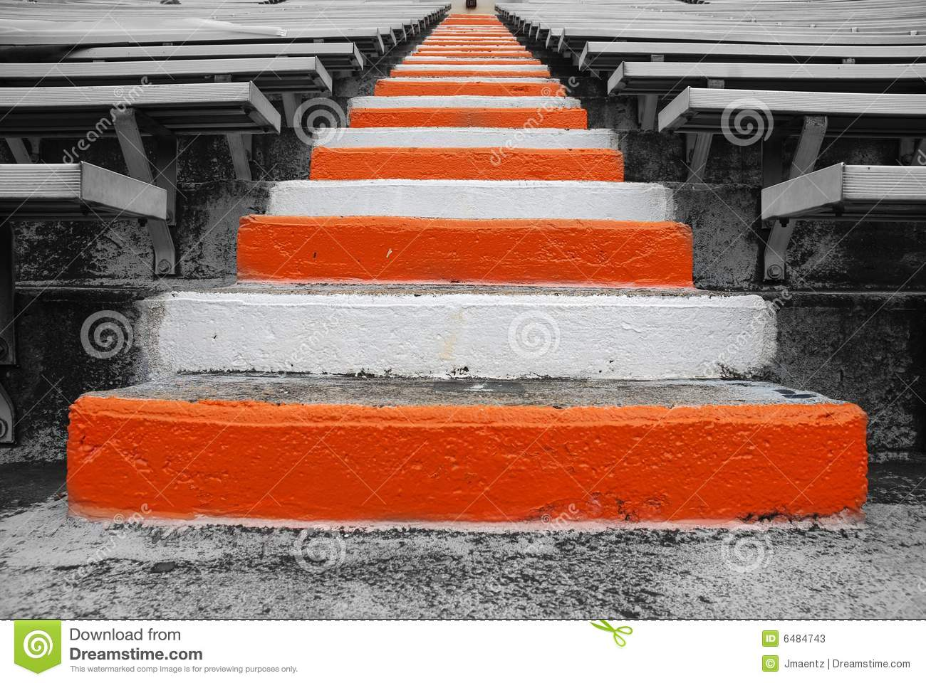 University Of Tennessee Football Field Stairs Stock Image ...