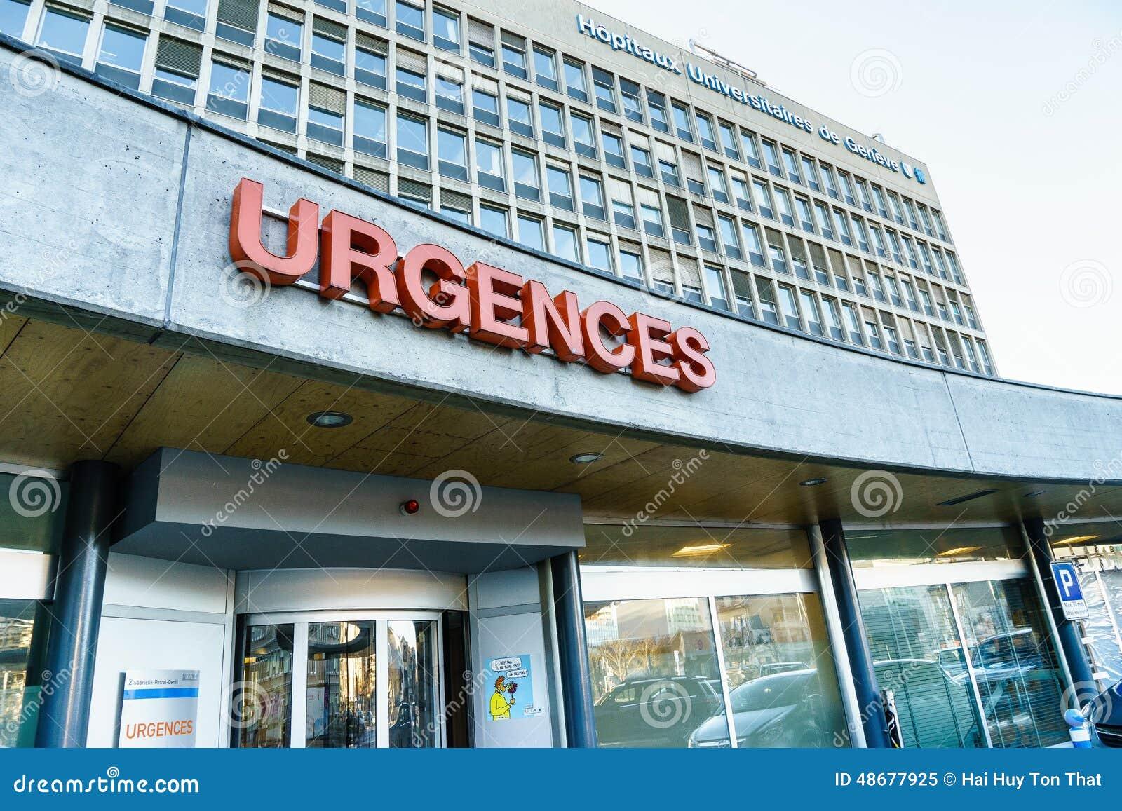 Uniwersytecki szpital Genewa