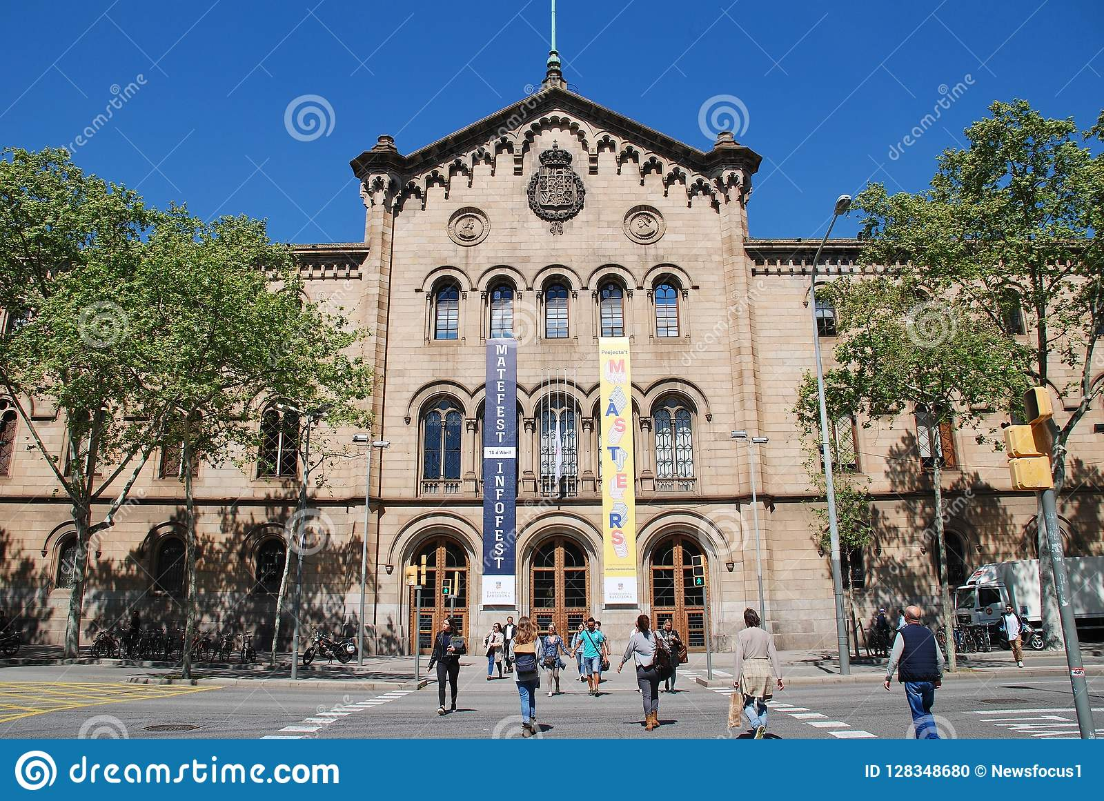 Uniwersytet Barcelona, Catalonia