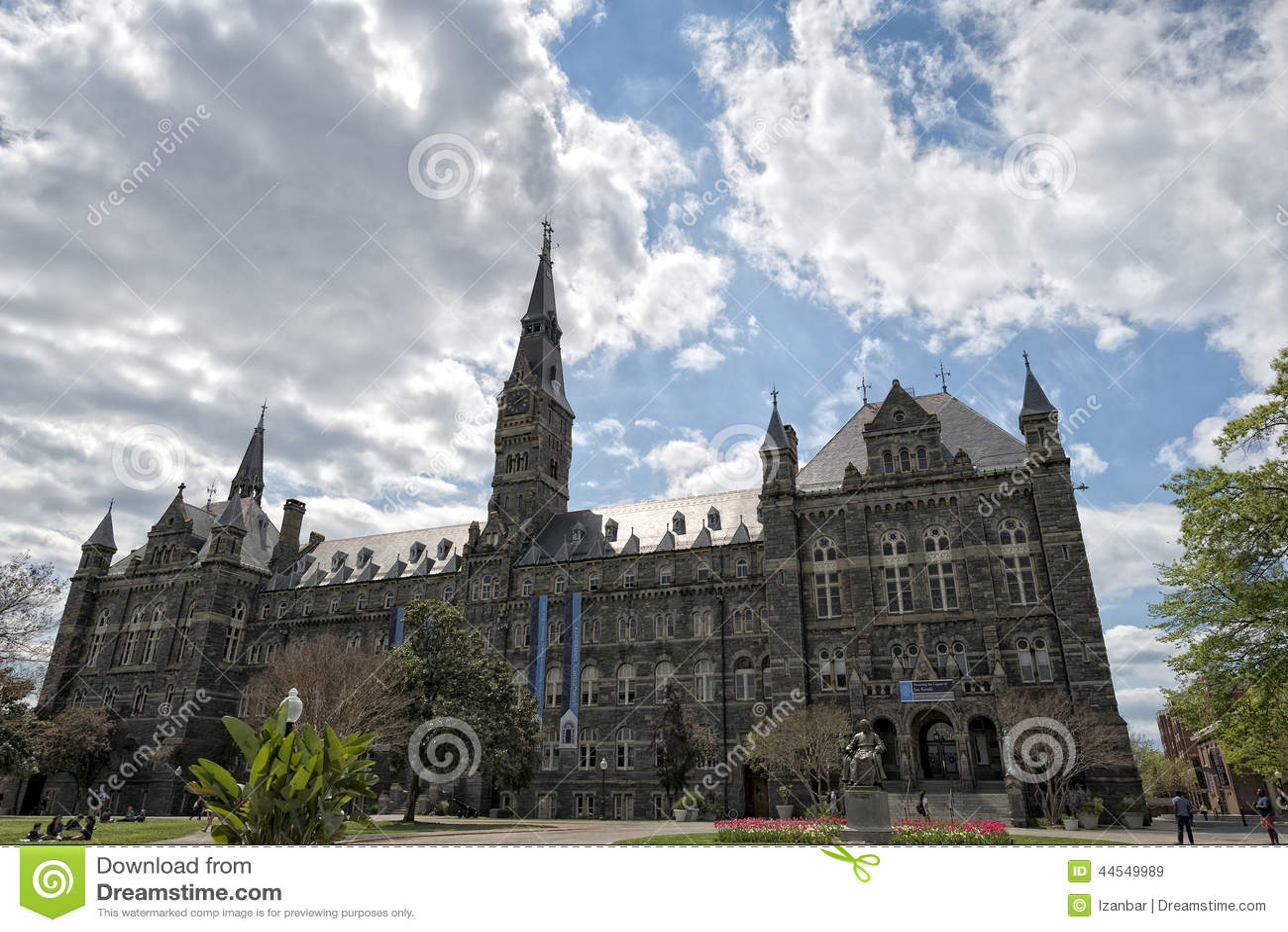 Uniwersytet Georgetown w washington dc