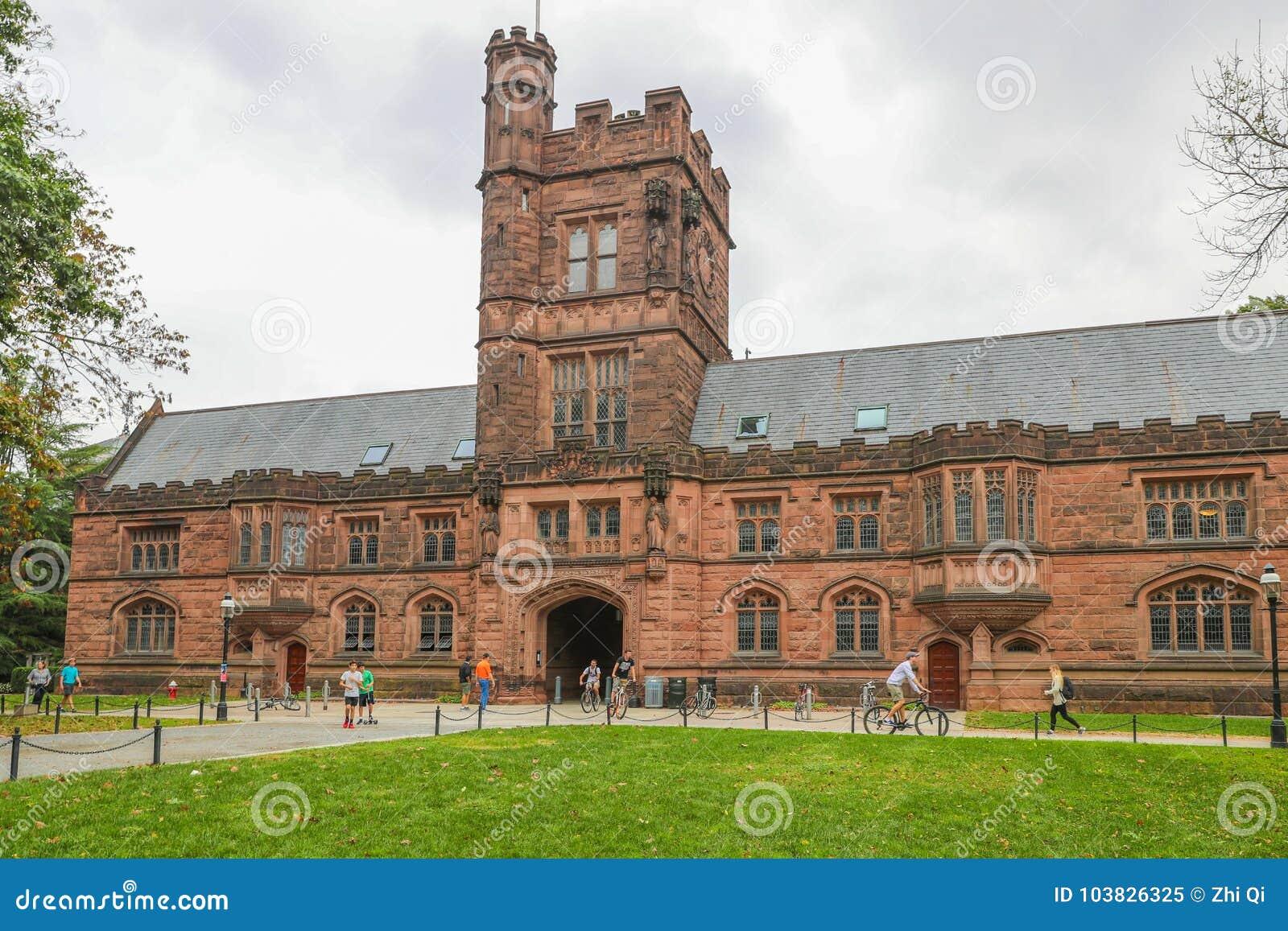 Uniwersytet Princeton jest Intymnym bluszcza liga uniwersytetem w Nowym - bydło, usa