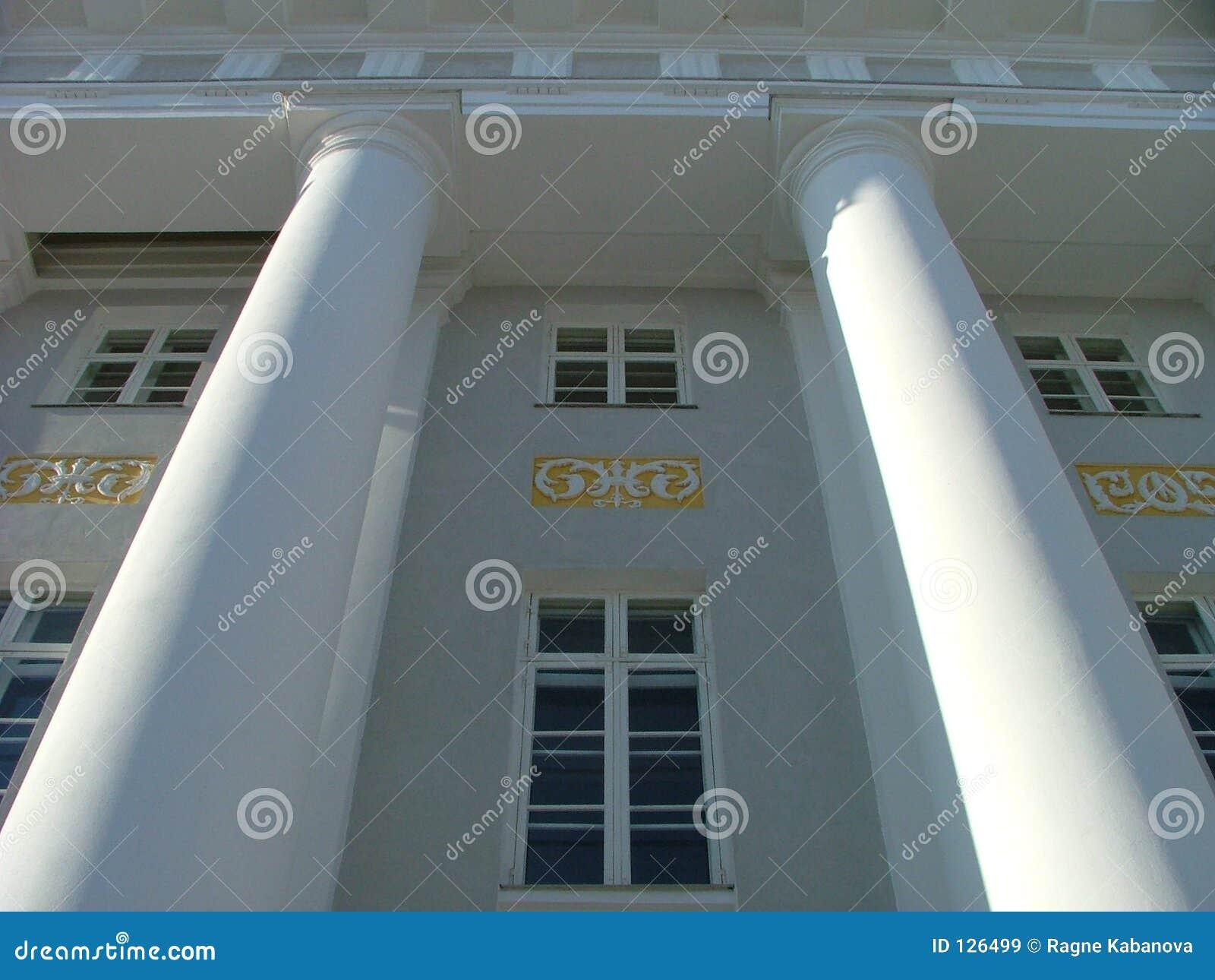 Uniwersytet w budynku tartu