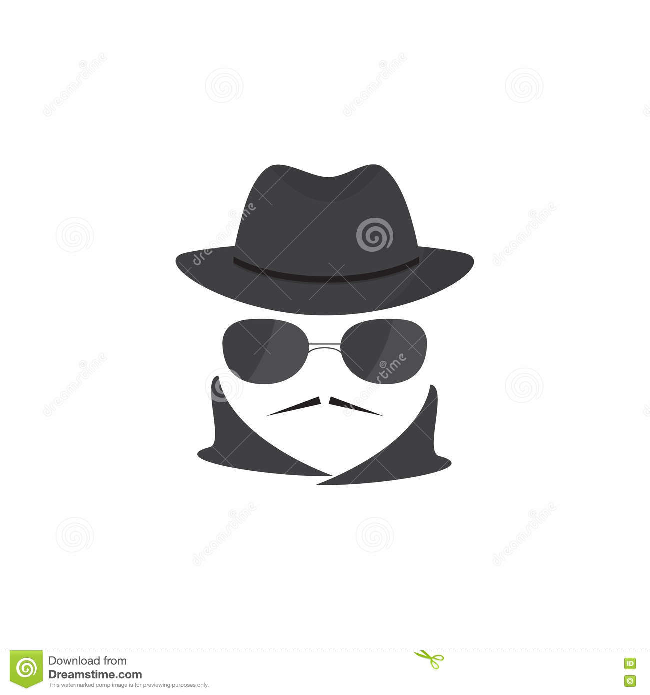 Mobster Man Royalty-Free Stock Photography