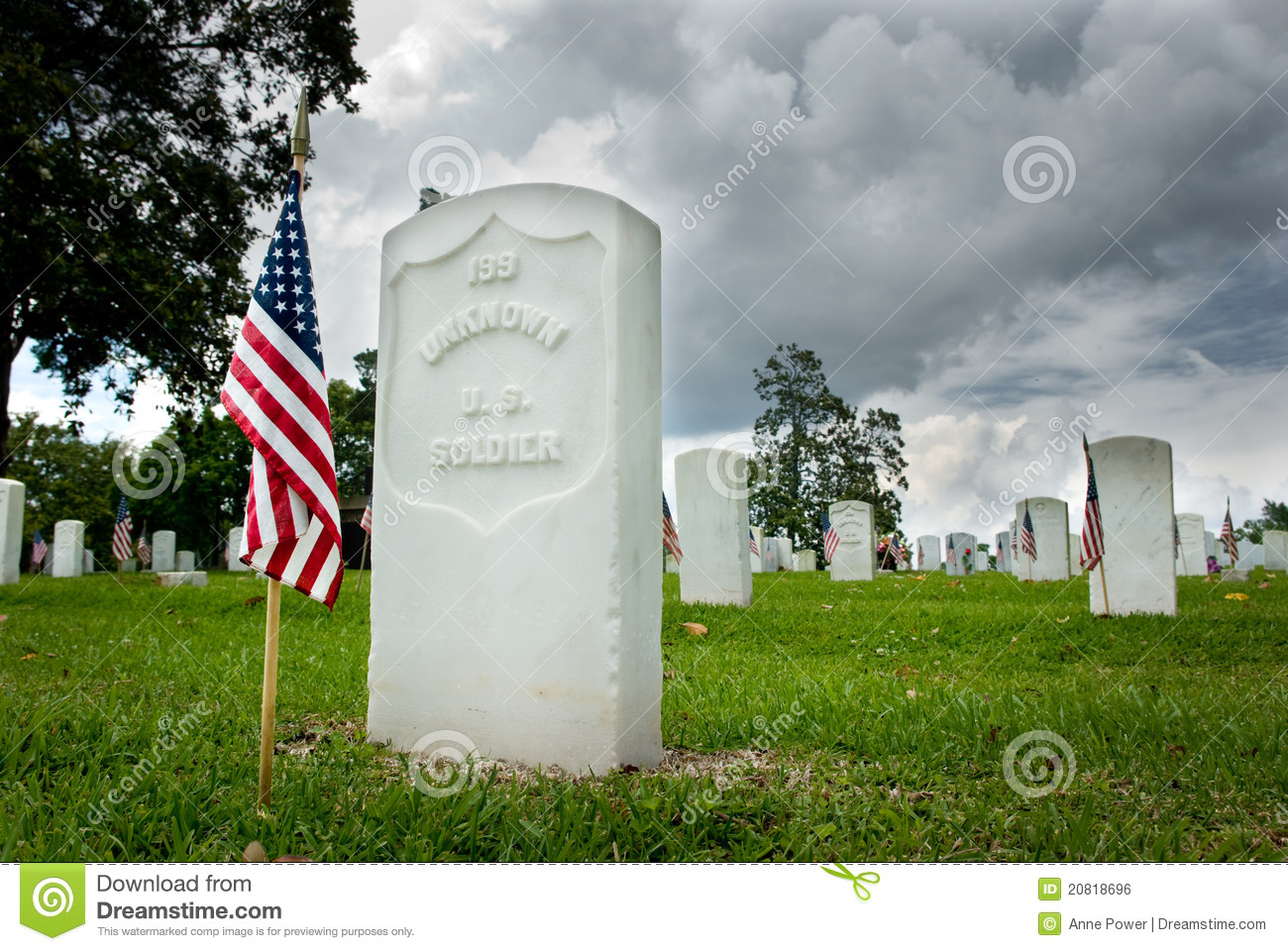 Unknown Soldiers Grave Royalty Free Stock Image Image