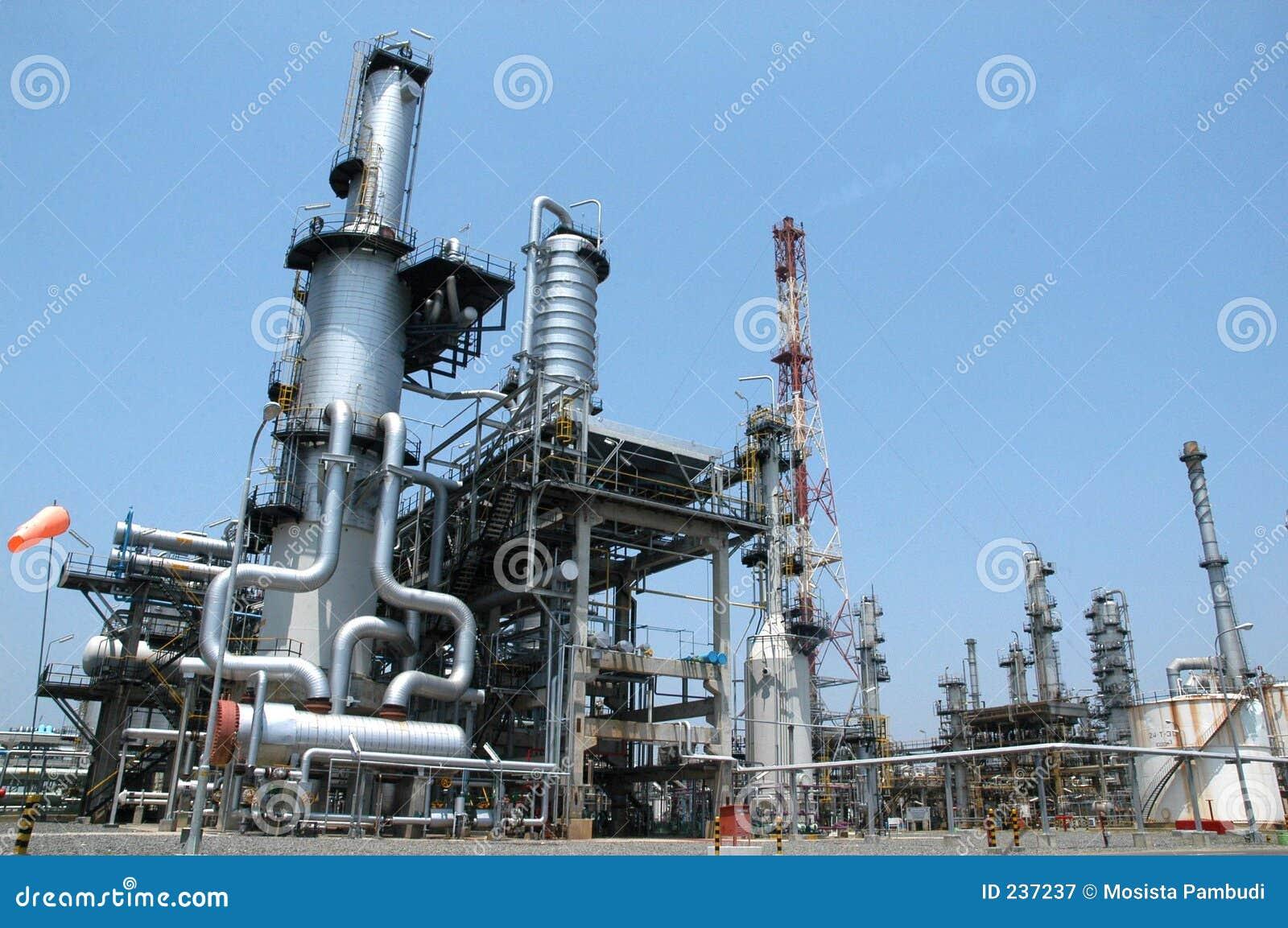 Unleaded oljeraffinaderi