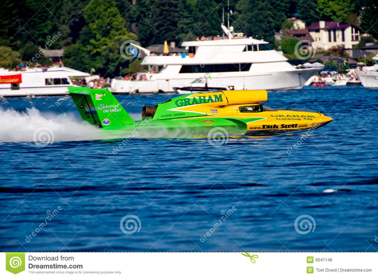 Unlimited Hydro Race Boat editorial photo  Image of hydro - 6041146