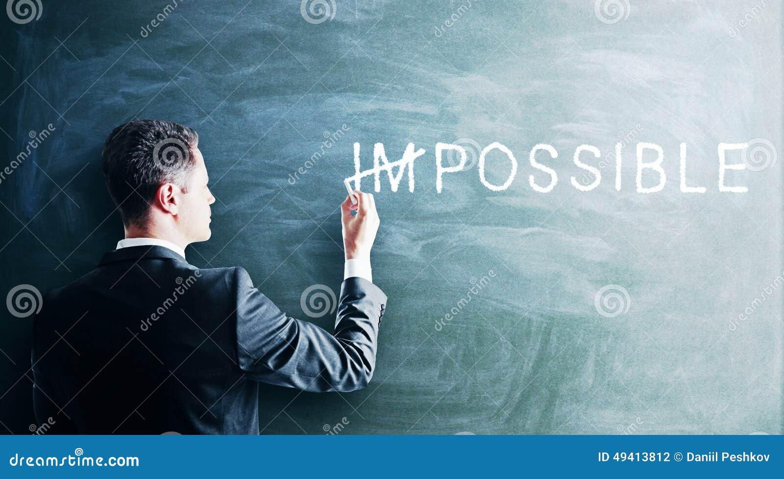 Download Unmögliches Konzept stockfoto. Bild von feld, herausforderung - 49413812