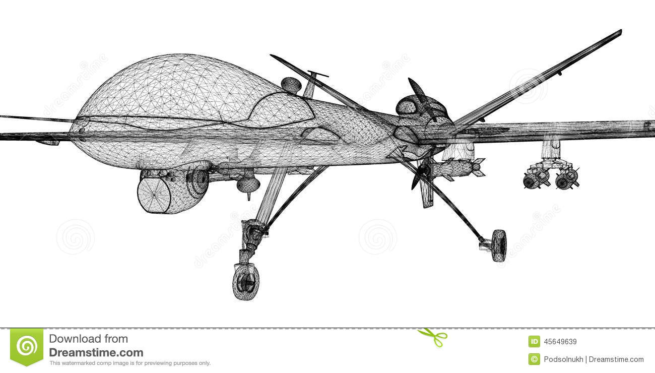 unmanned aerial vehicle  uav  stock photo