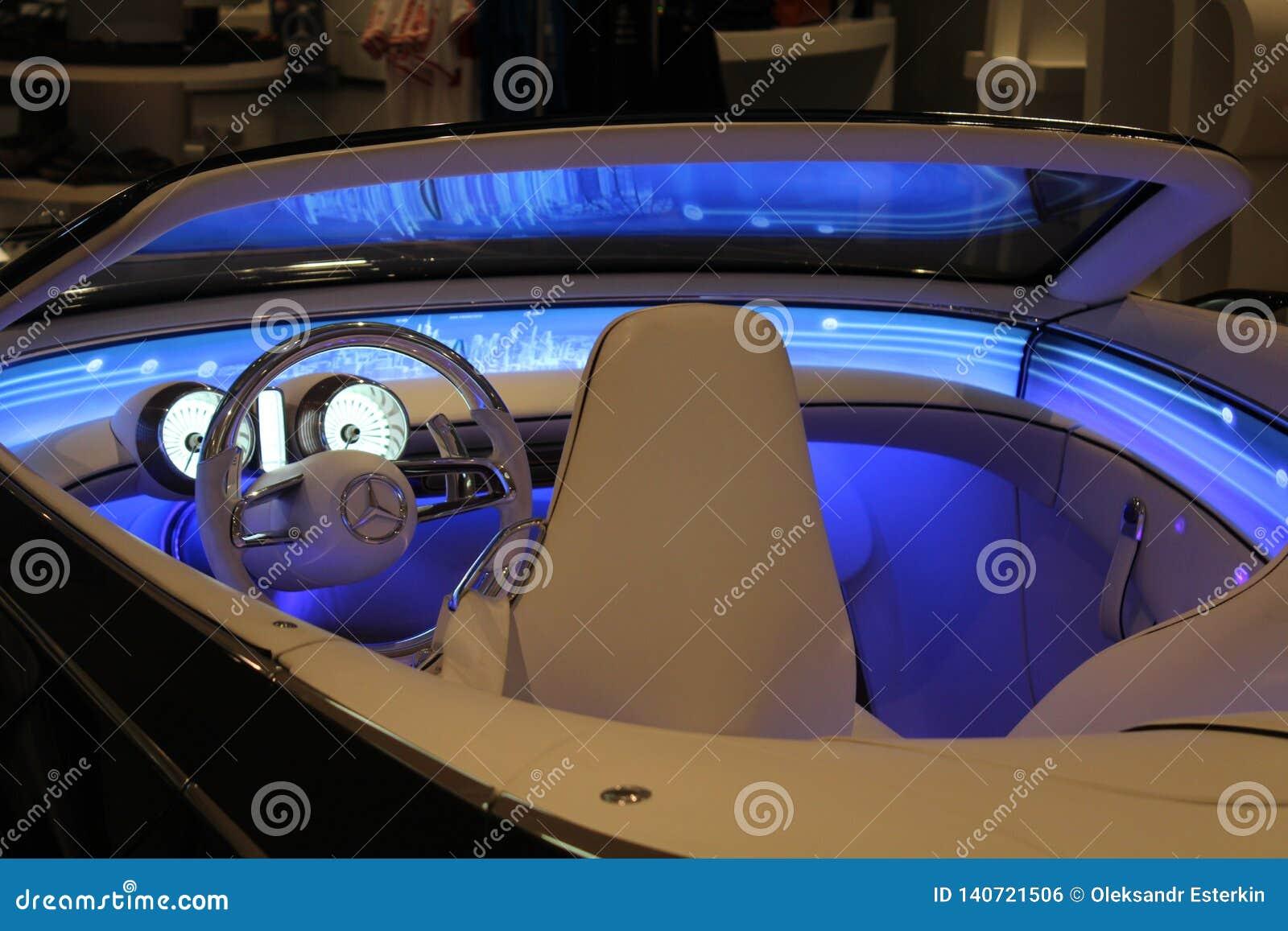 Uno de los últimos modelos de Mercedes