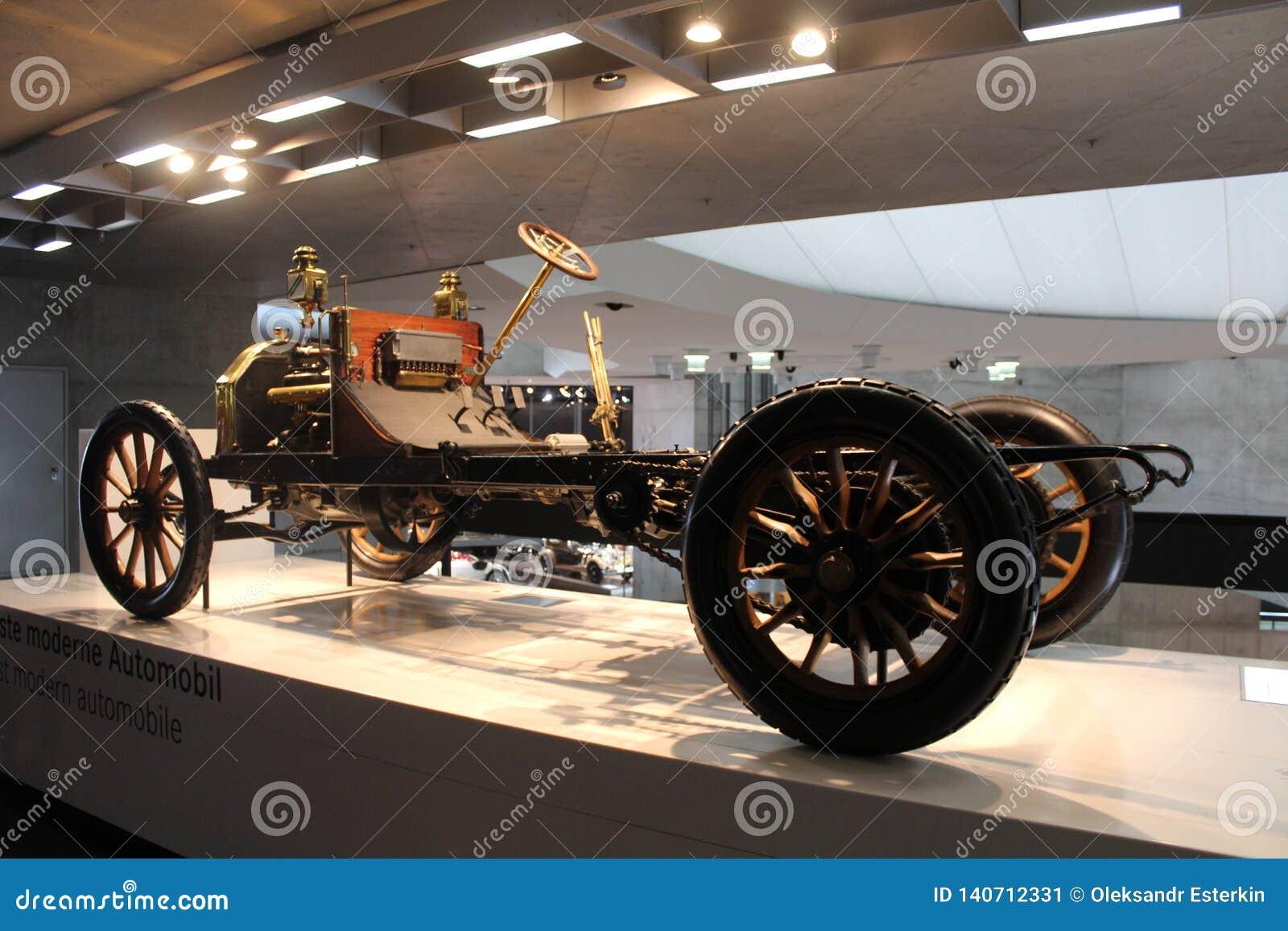 Uno dei primi modelli migliori Mercedes dell automobile