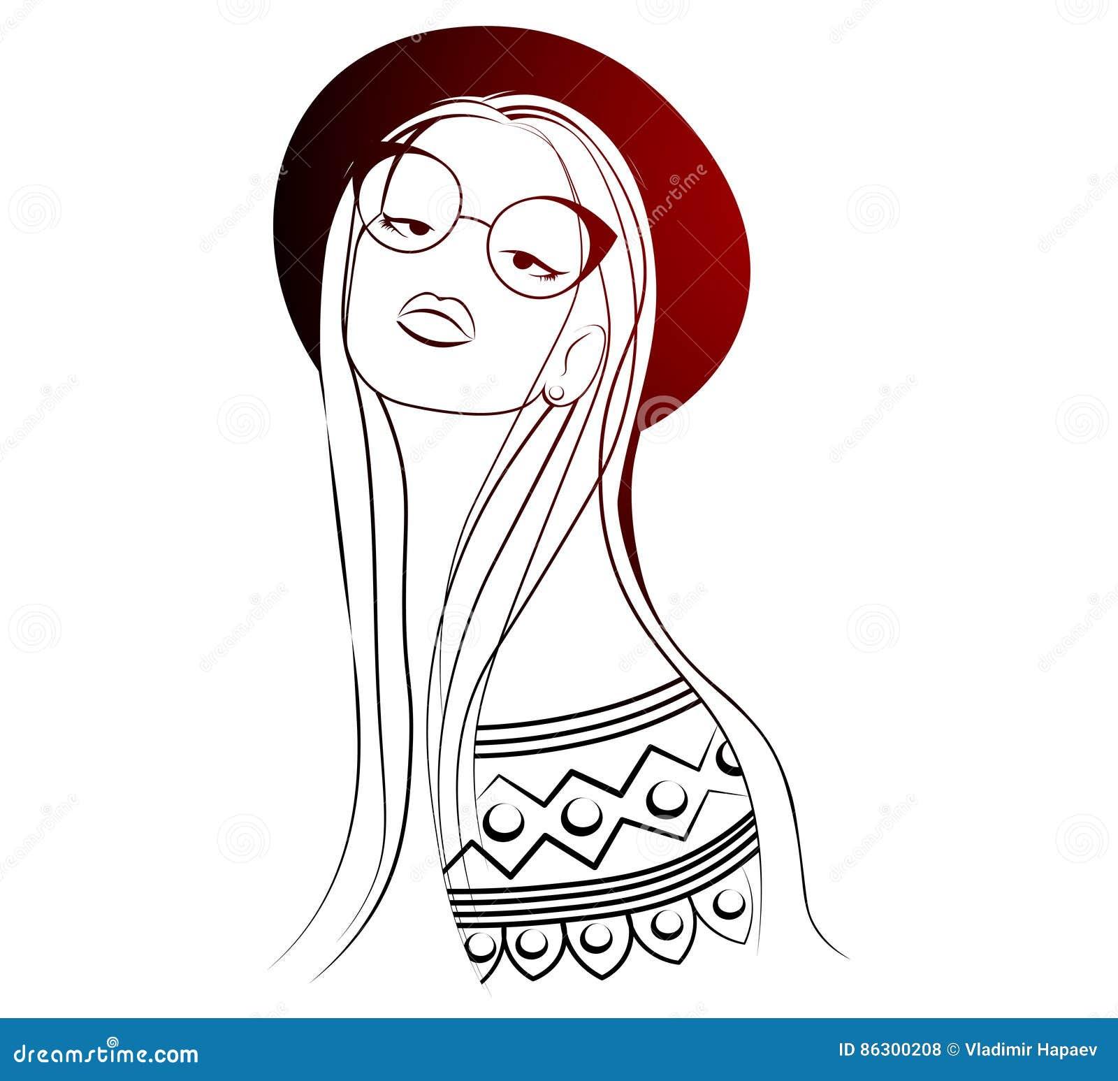 Uno schizzo della giovane donna di modo disegno della for Modo 10 prezzi