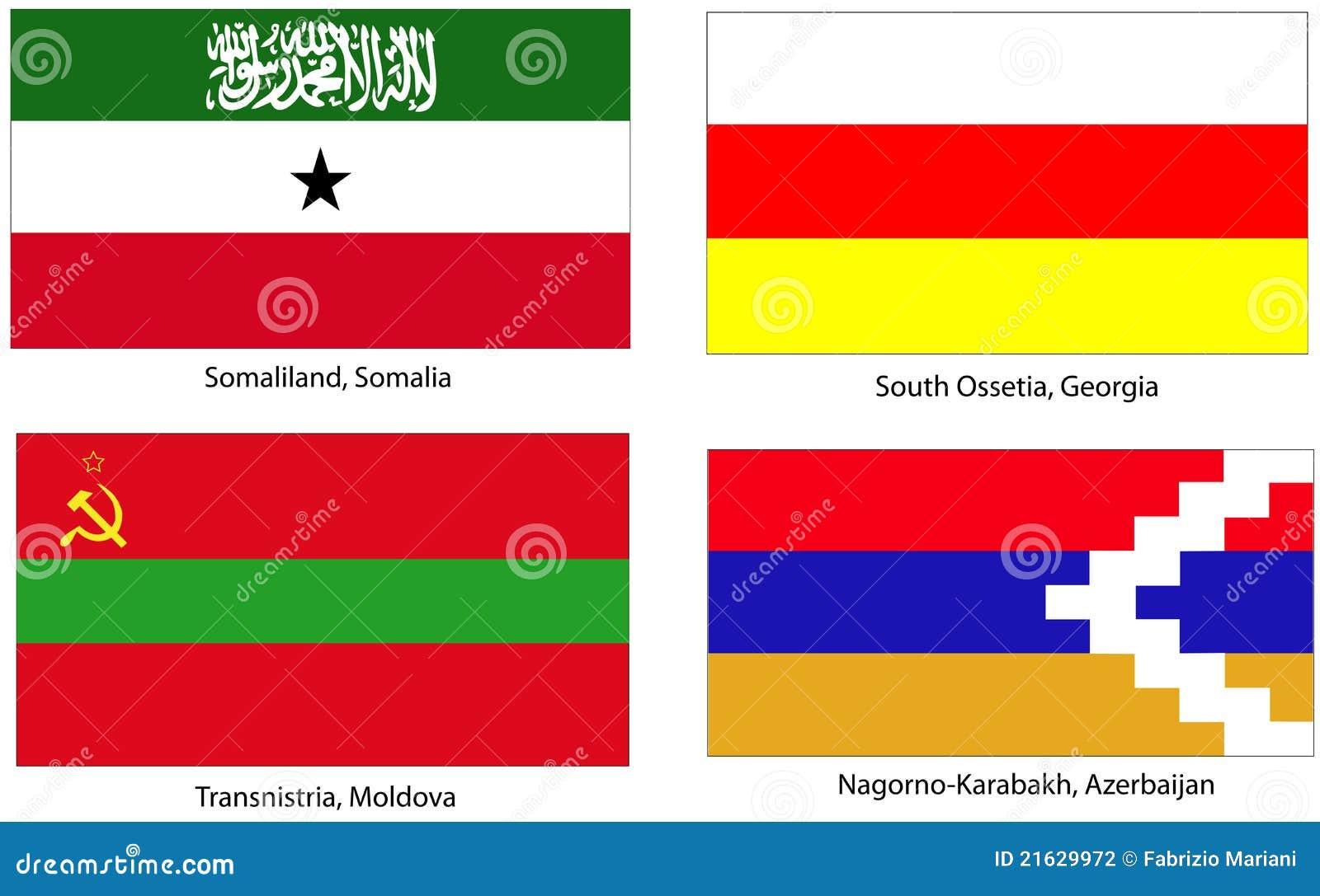 Azerbaijan Flag Clipart