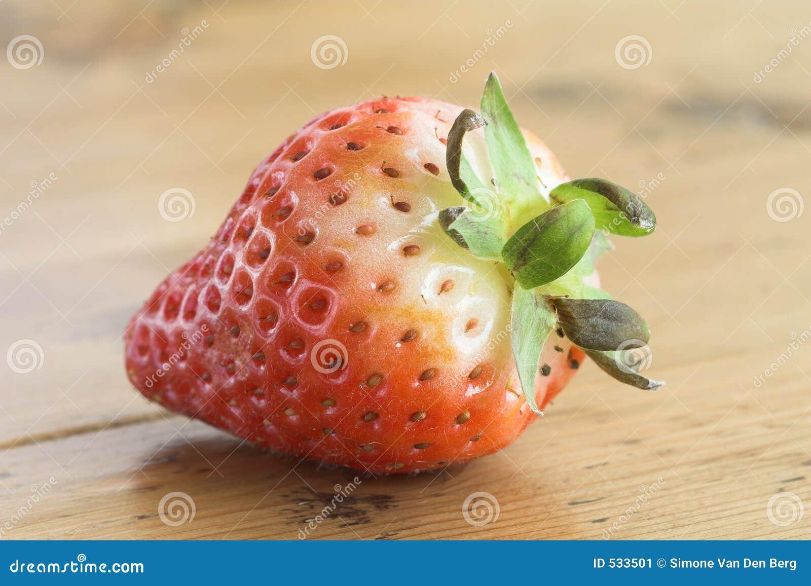 Unripe Strawberries Unripe strawberry stoc...
