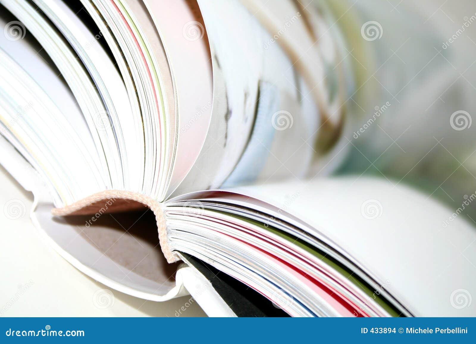 Unscharfes Buch