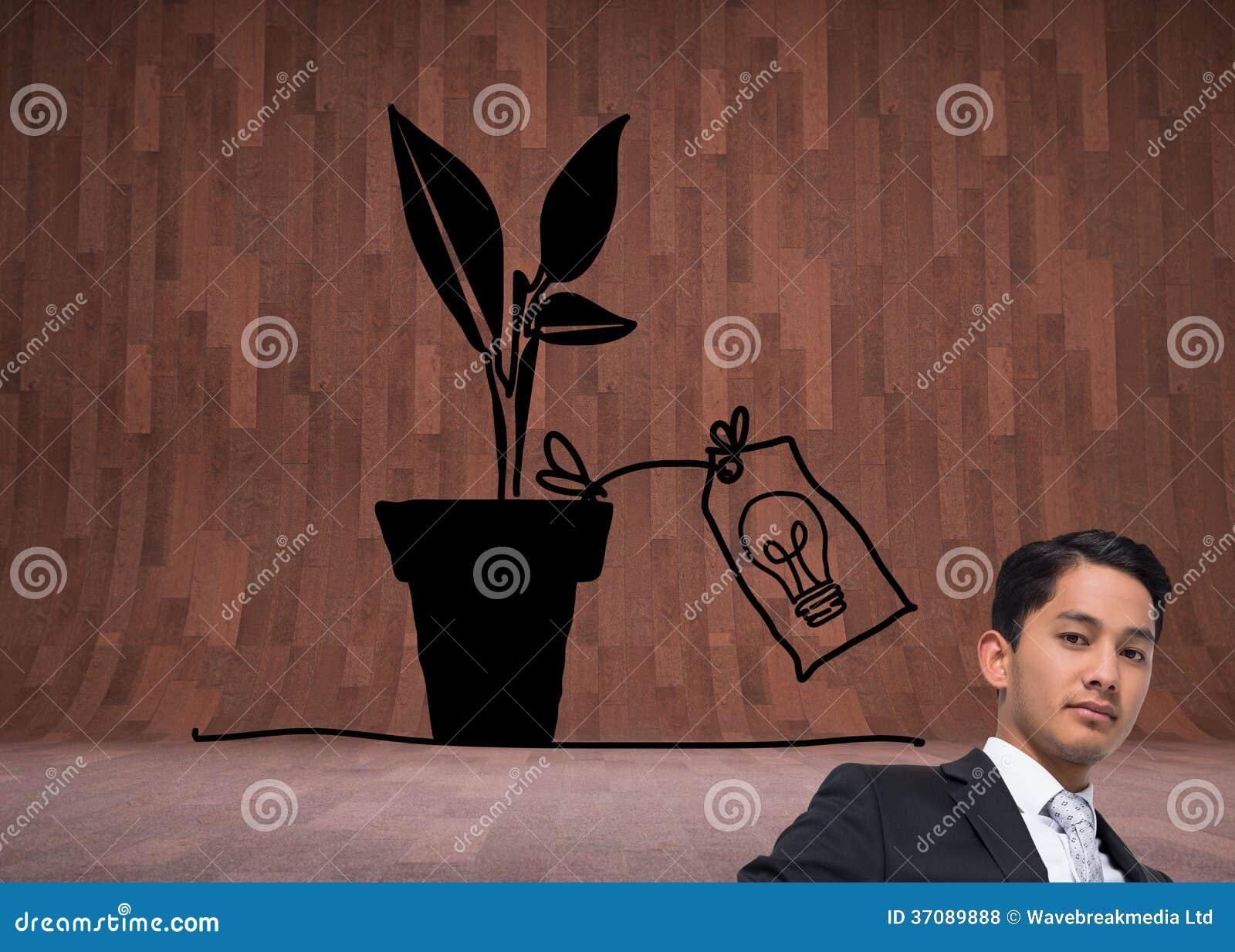 Download Unsmiling Azjatykci Biznesmen Zdjęcie Stock - Obraz złożonej z światło, rozwojowy: 37089888
