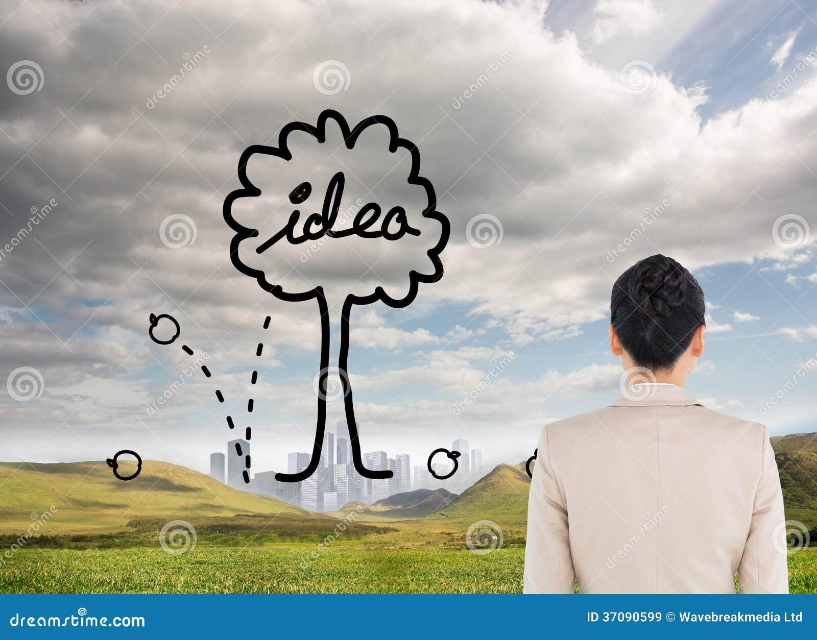 Download Unsmiling Azjatykci Bizneswoman Obraz Stock - Obraz złożonej z chmura, sunshine: 37090599